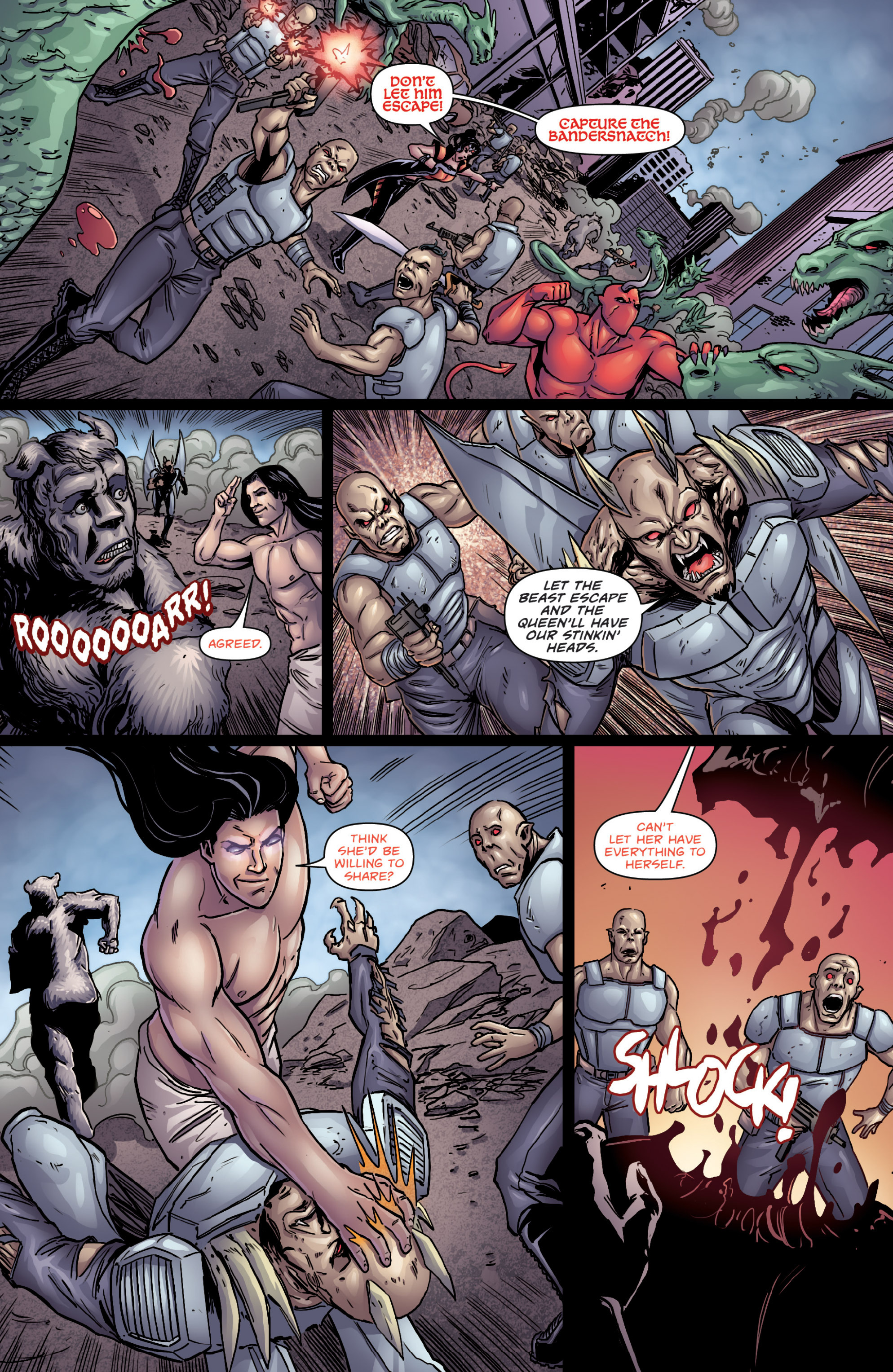 Read online Grimm Fairy Tales presents Cinderella: Age of Darkness comic -  Issue #2 - 6