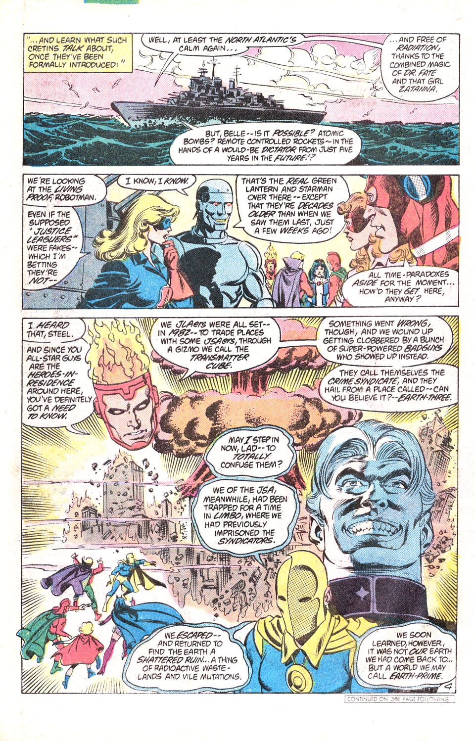 Read online All-Star Squadron comic -  Issue #15 - 5