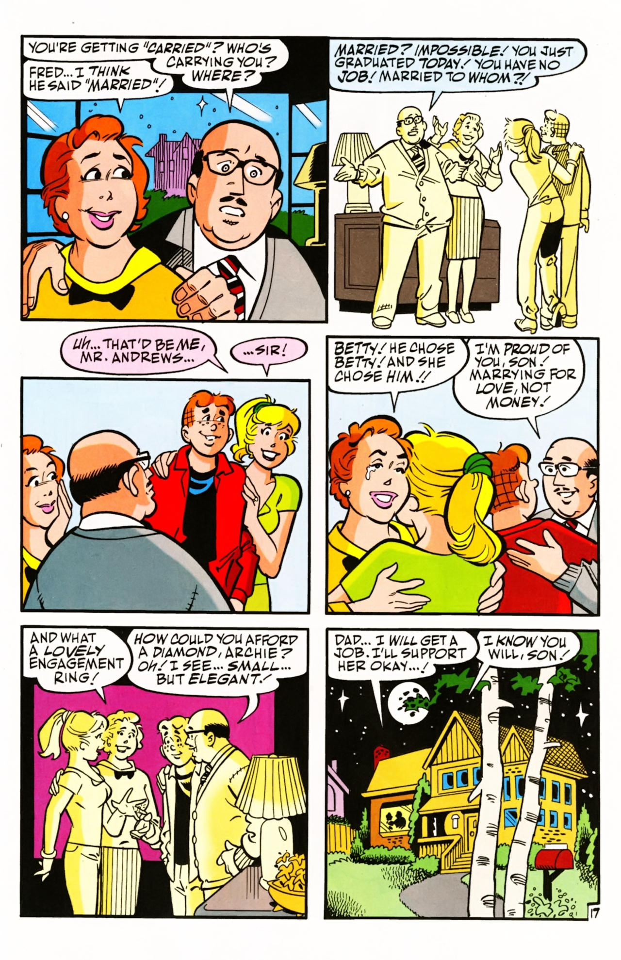 Read online Archie (1960) comic -  Issue #603 - 24