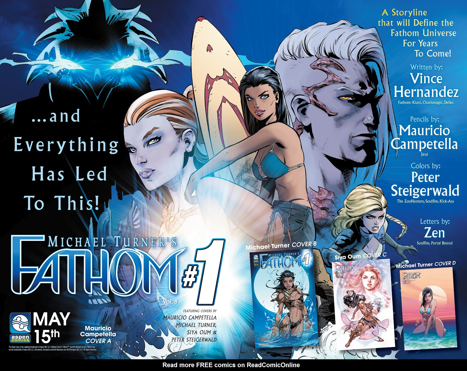 Read online Fathom (2018) comic -  Issue #8 - 23