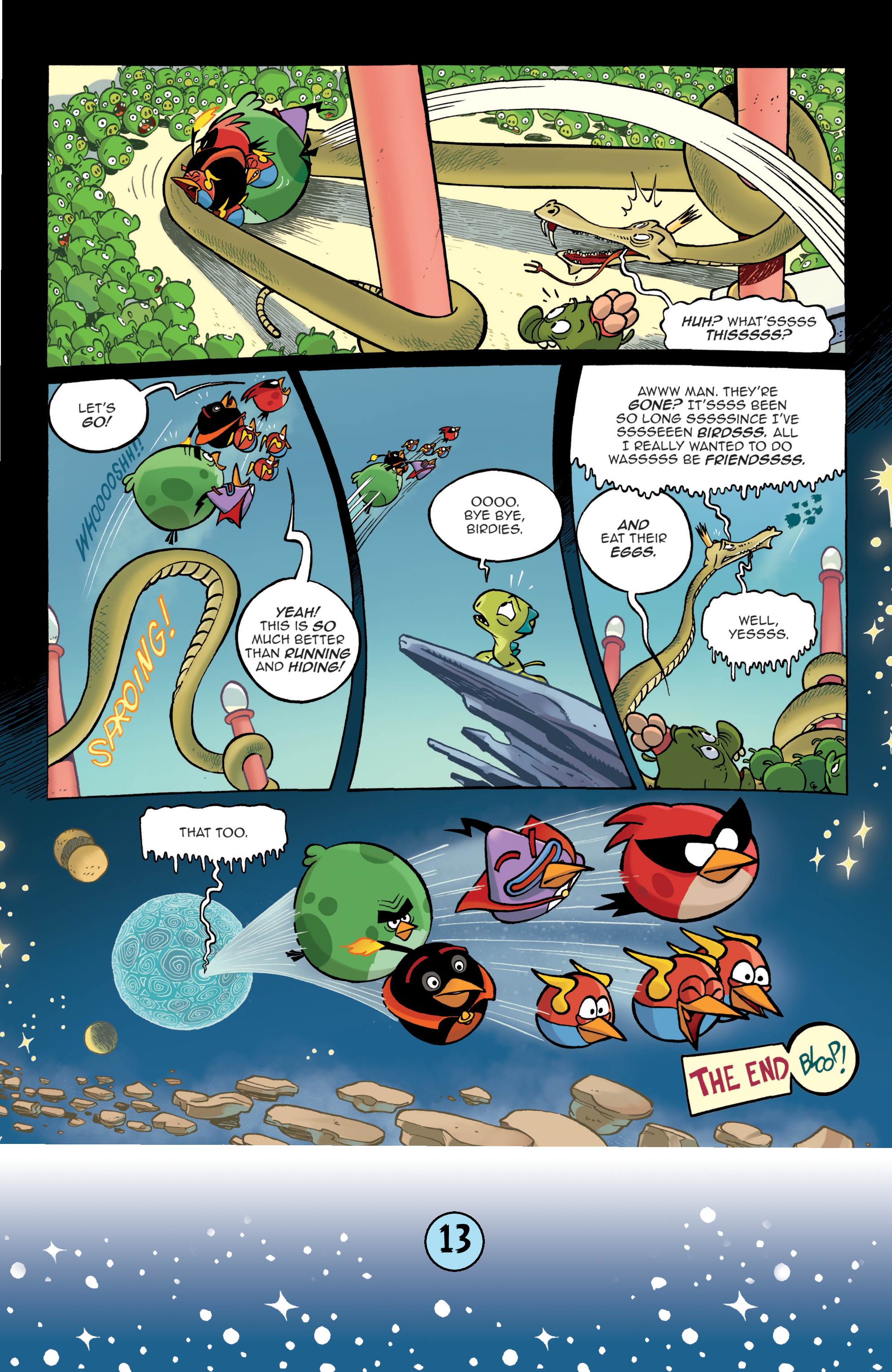 Read online Angry Birds Comics (2016) comic -  Issue #9 - 15