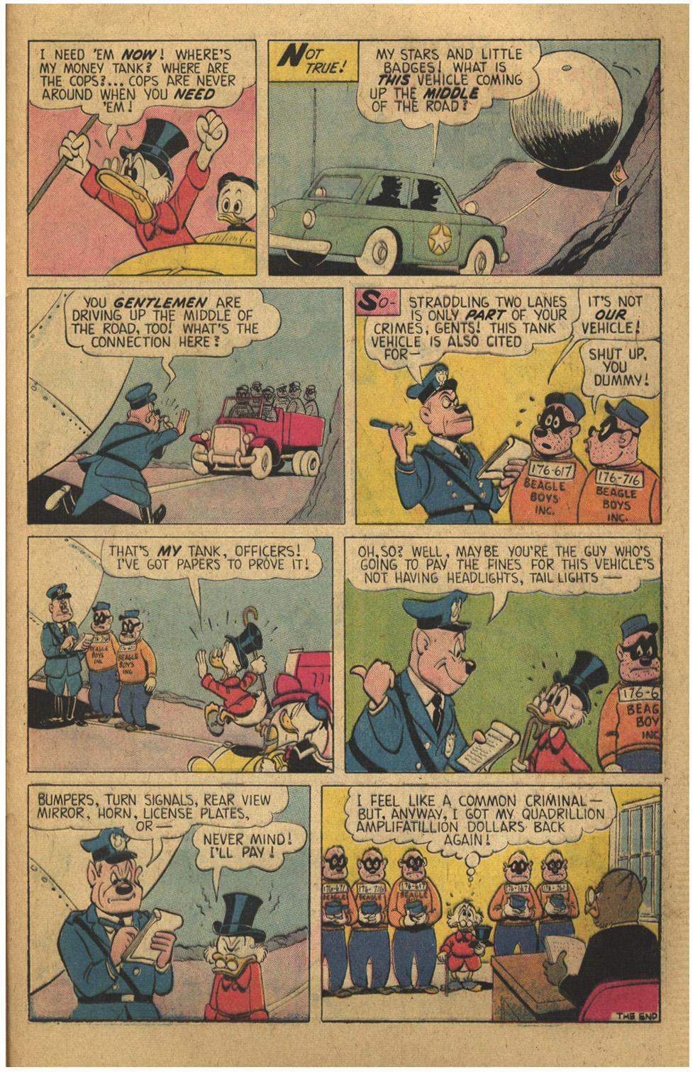 Read online Uncle Scrooge (1953) comic -  Issue #136 - 25