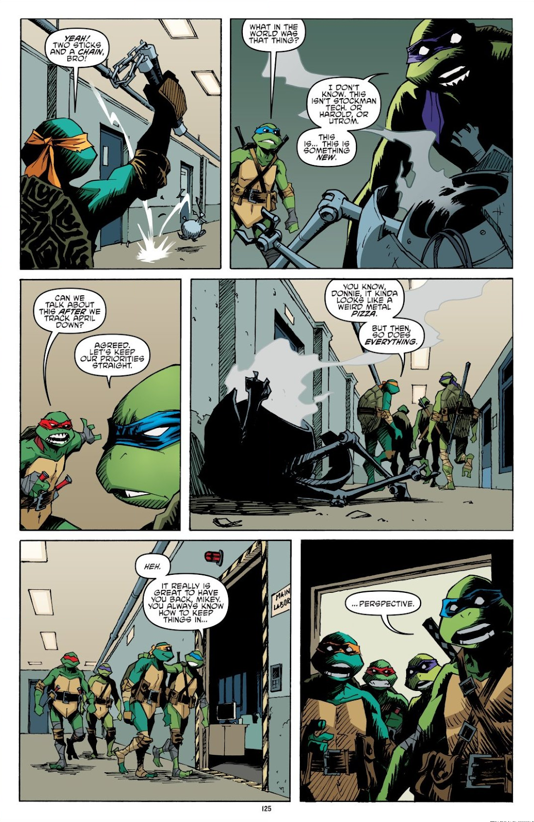 Read online Teenage Mutant Ninja Turtles: The IDW Collection comic -  Issue # TPB 8 (Part 2) - 24