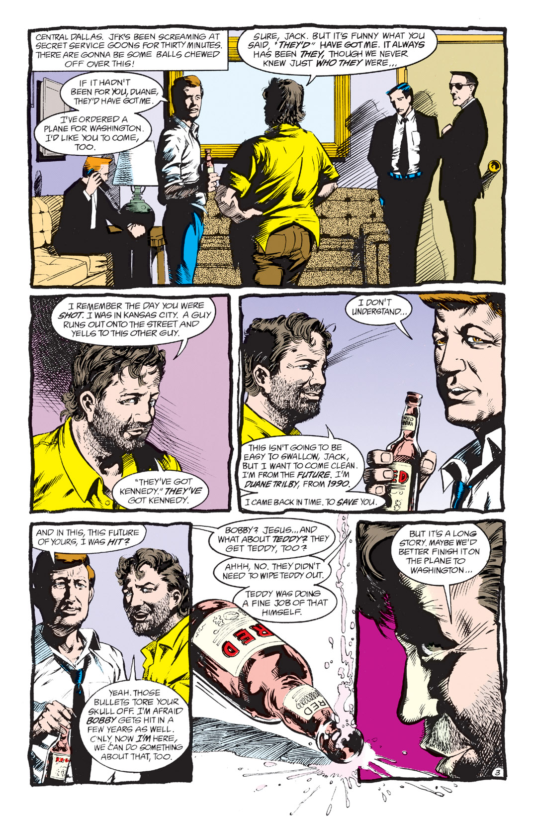 Read online Shade, the Changing Man comic -  Issue #3 - 5