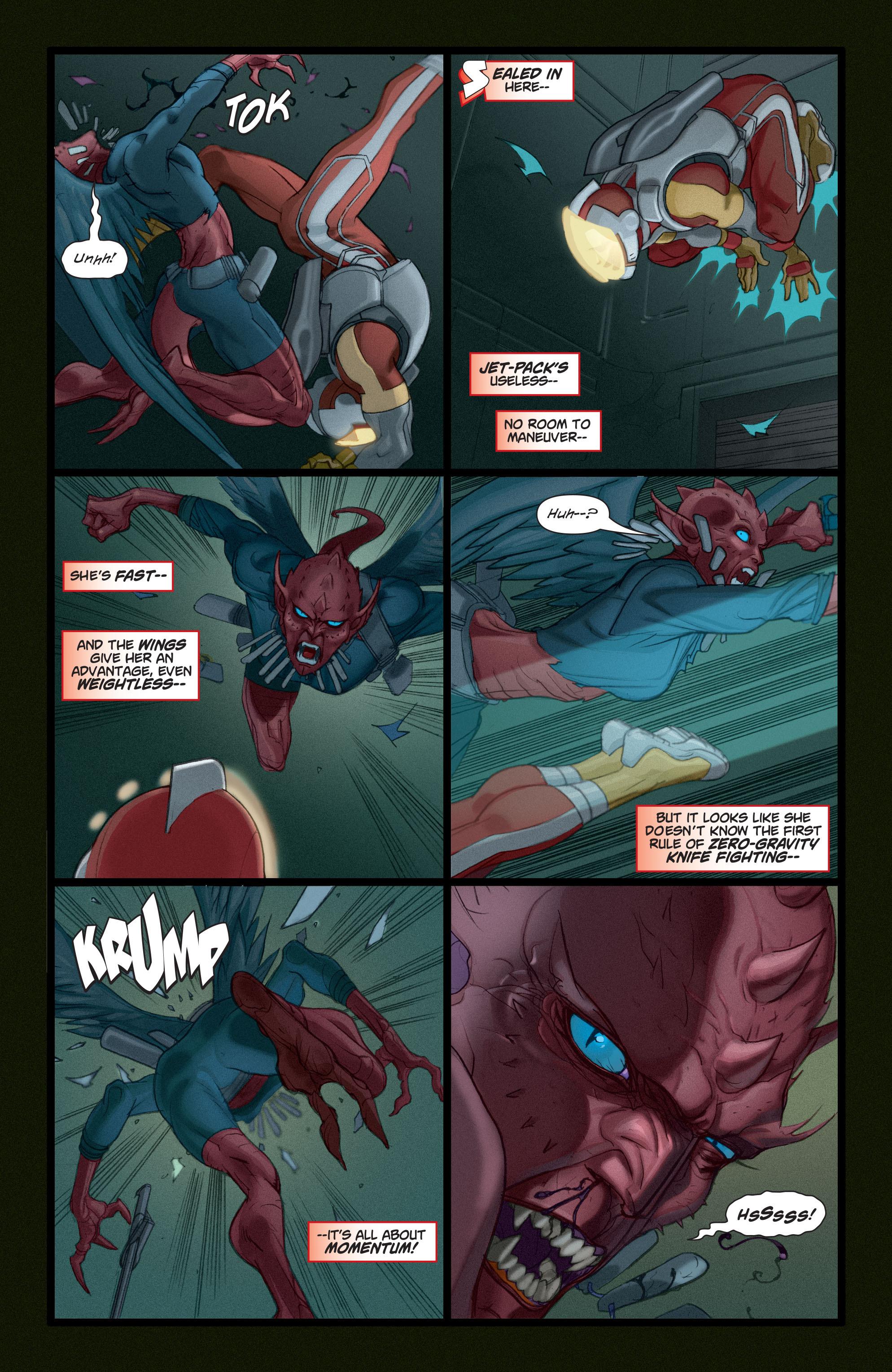 Read online Adam Strange (2004) comic -  Issue #4 - 9