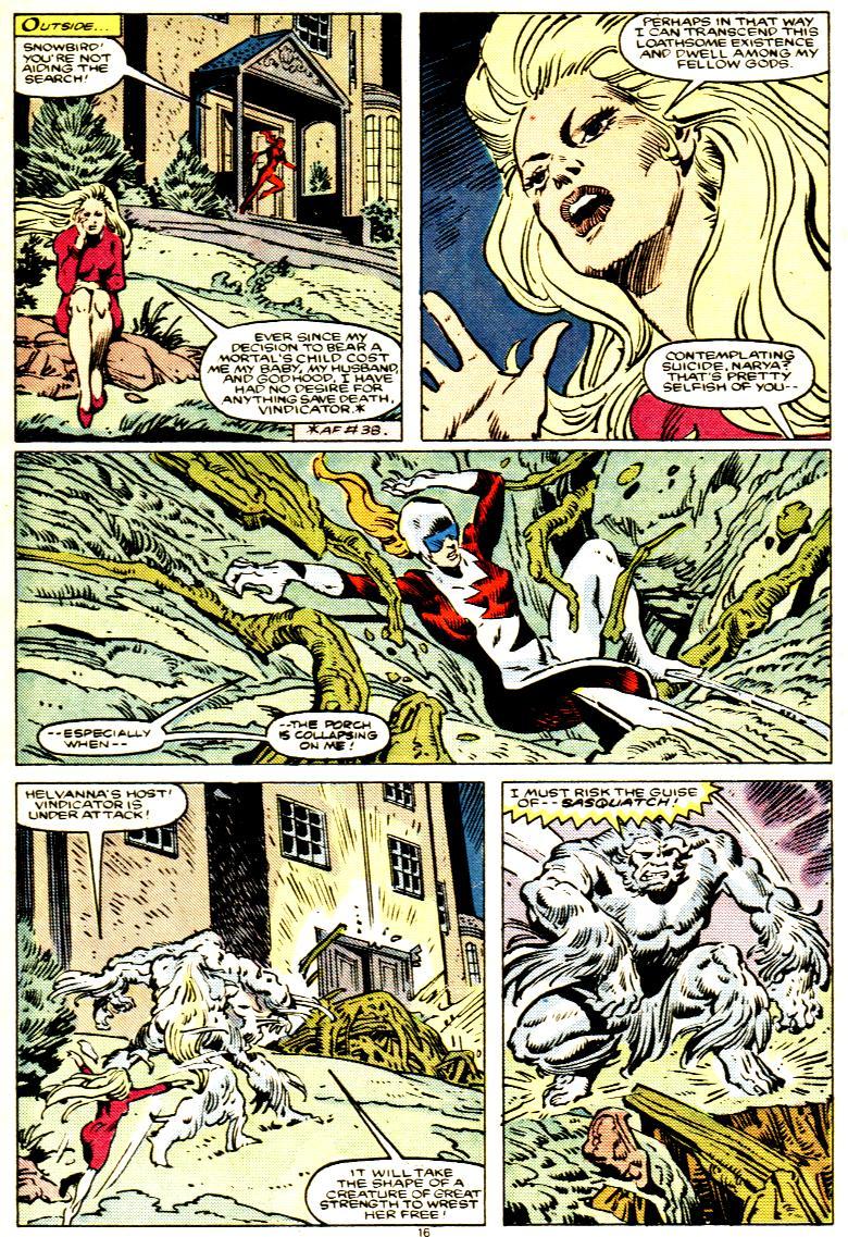 Read online Alpha Flight (1983) comic -  Issue # _Annual 1 - 17