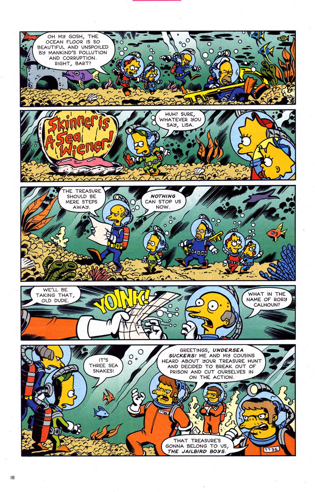 Read online Simpsons Comics comic -  Issue #102 - 19