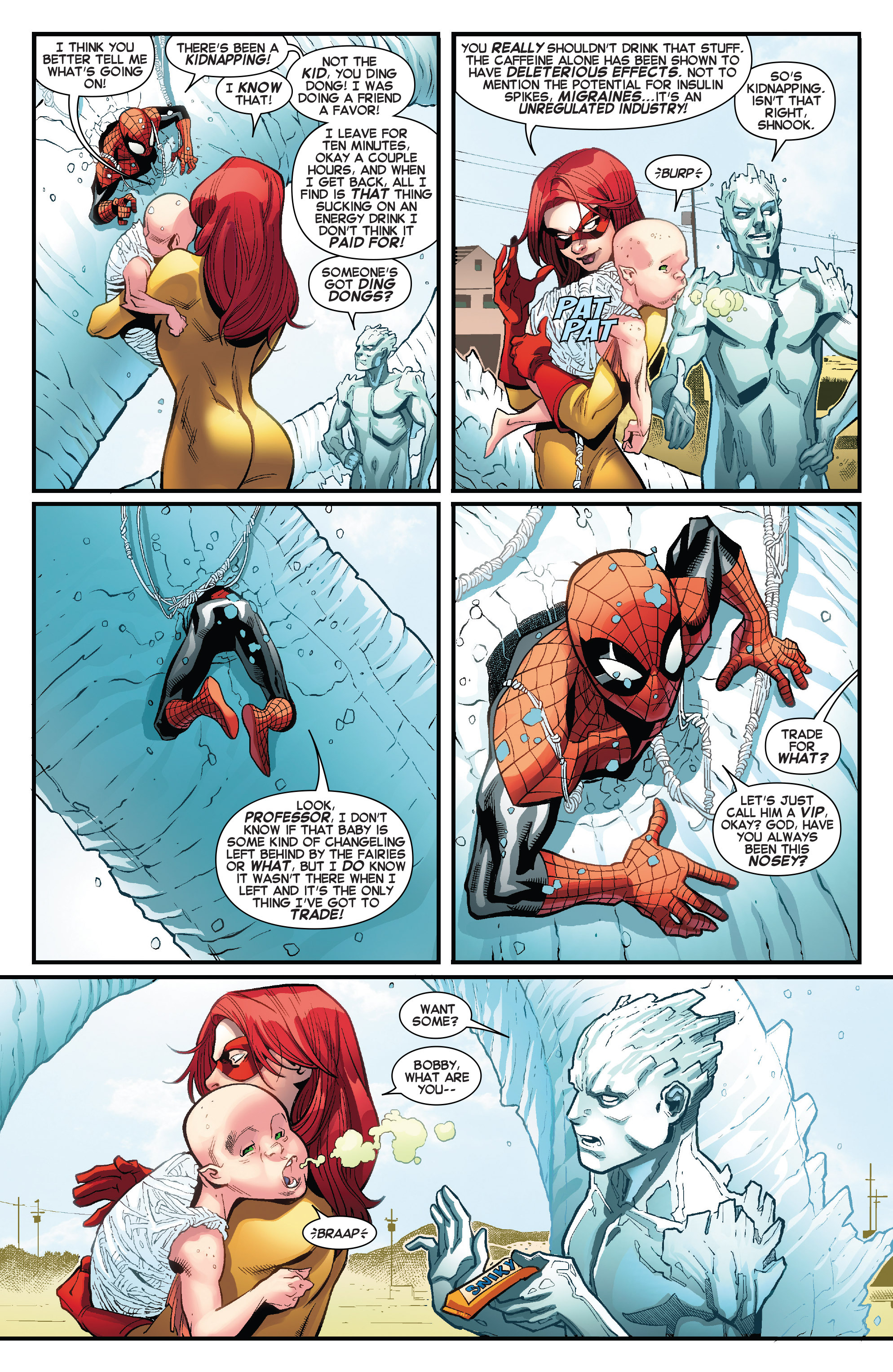 Read online Amazing X-Men (2014) comic -  Issue #7 - 12