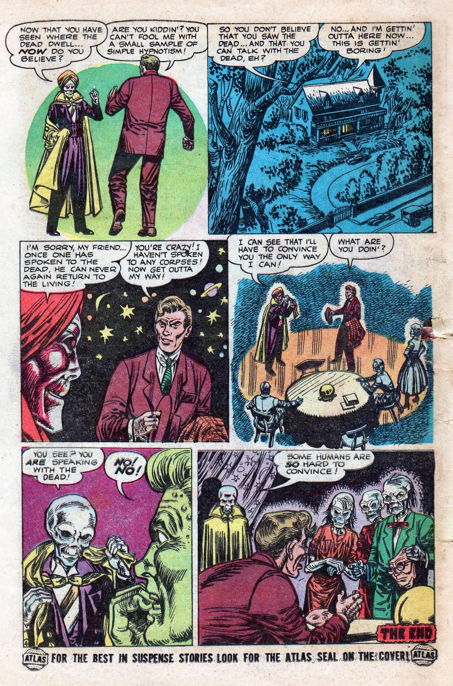 Read online Adventures into Weird Worlds comic -  Issue #11 - 12