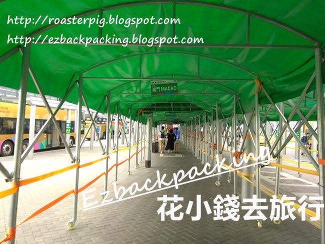 港珠澳大橋香港口岸金巴巴士站