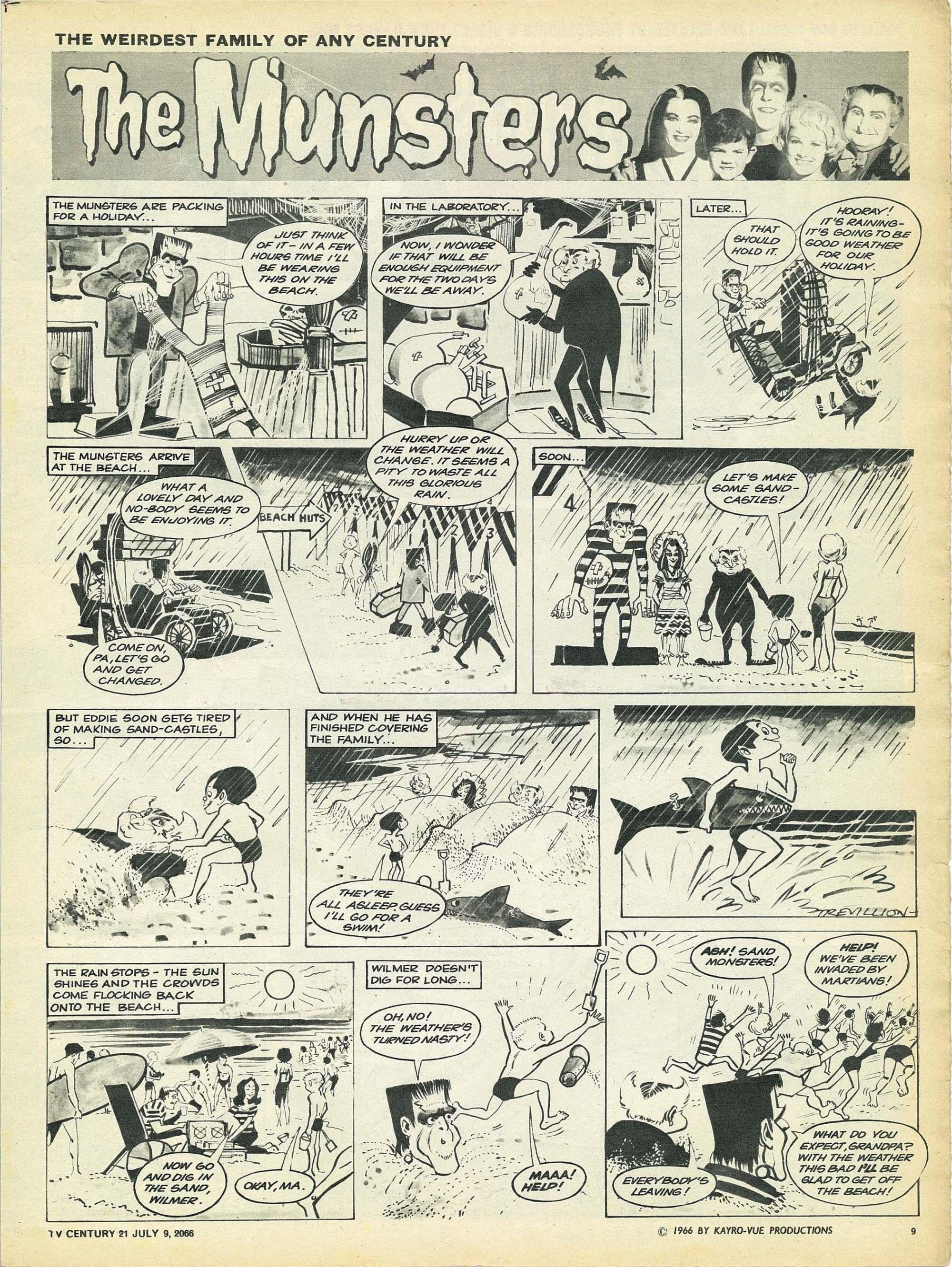 Read online TV Century 21 (TV 21) comic -  Issue #77 - 9