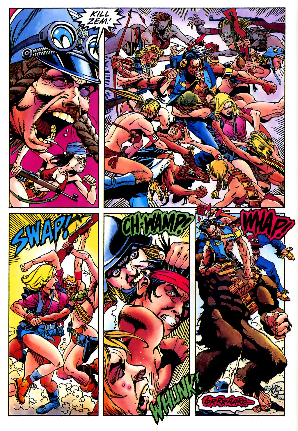 Read online Turok, Dinosaur Hunter (1993) comic -  Issue #37 - 14