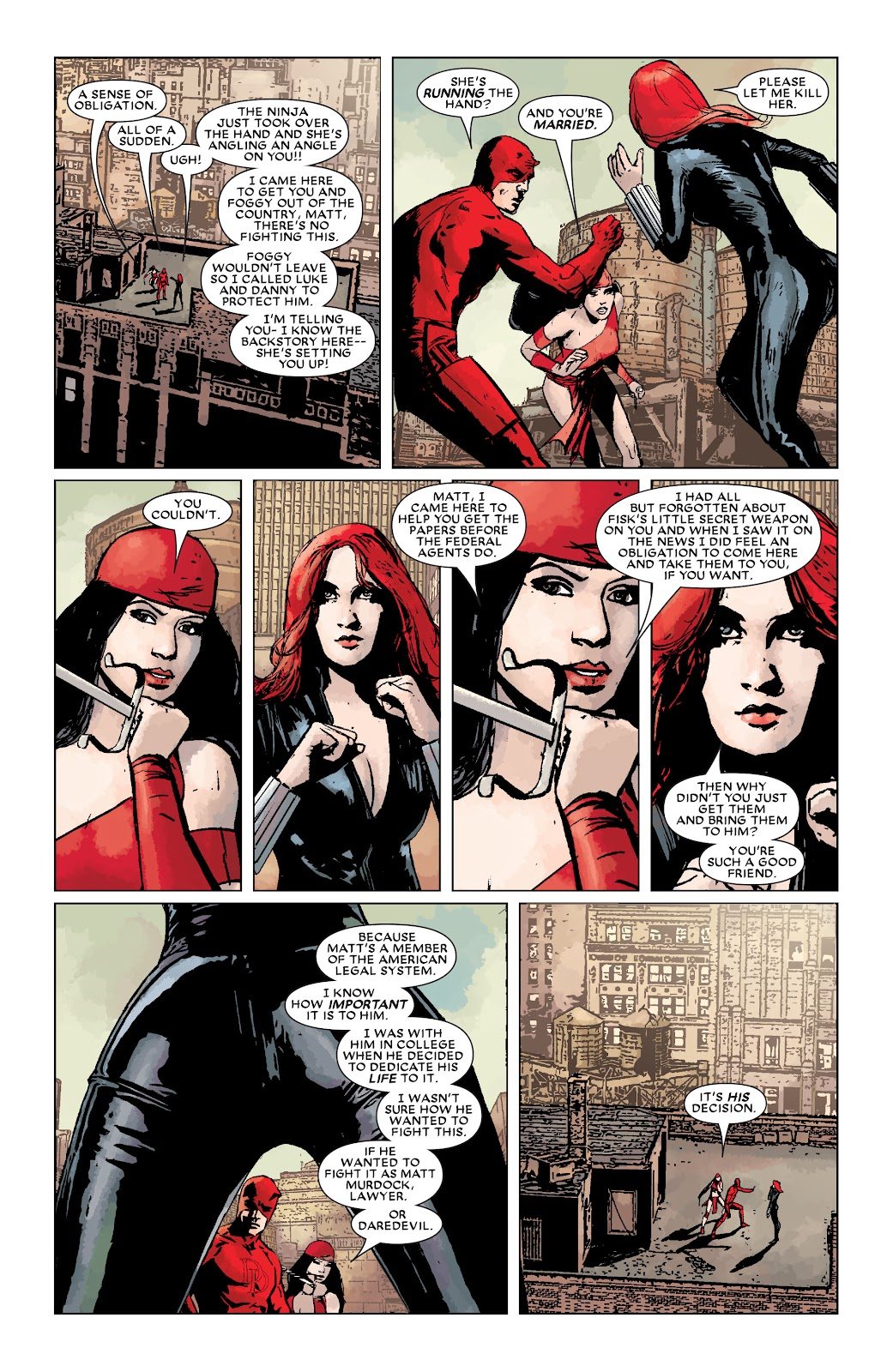 Read online Daredevil (1998) comic -  Issue # _Ultimate_Collection TPB 3 (Part 3) - 81