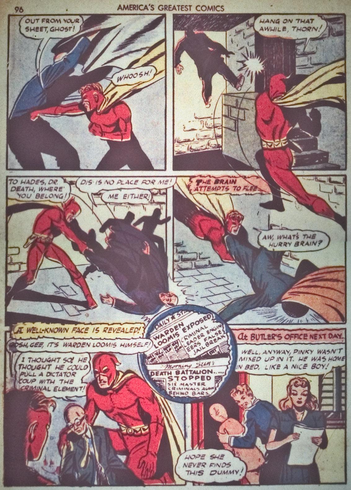 Read online America's Greatest Comics comic -  Issue #1 - 99