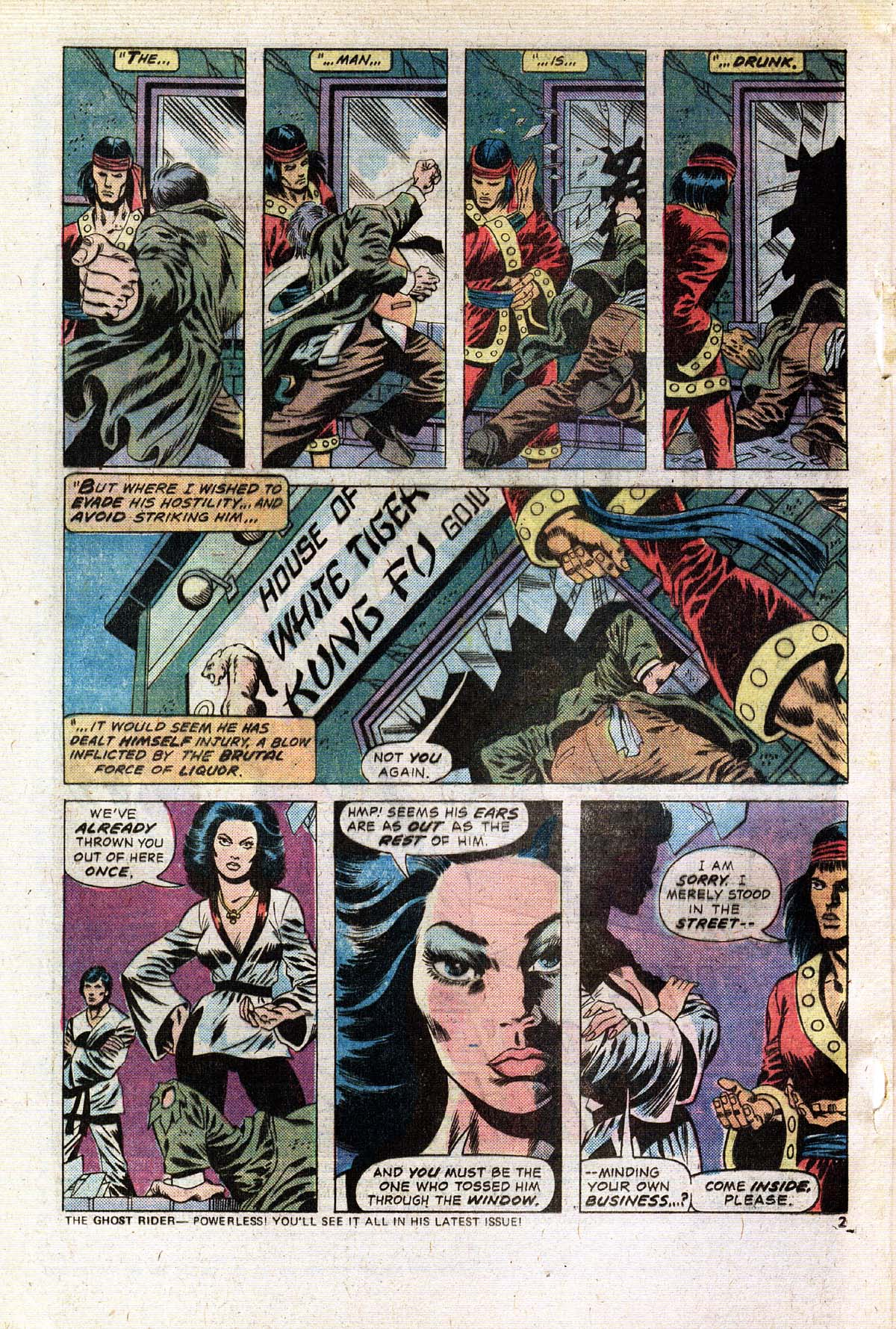 Read online Giant-Size Master of Kung Fu comic -  Issue #2 - 3