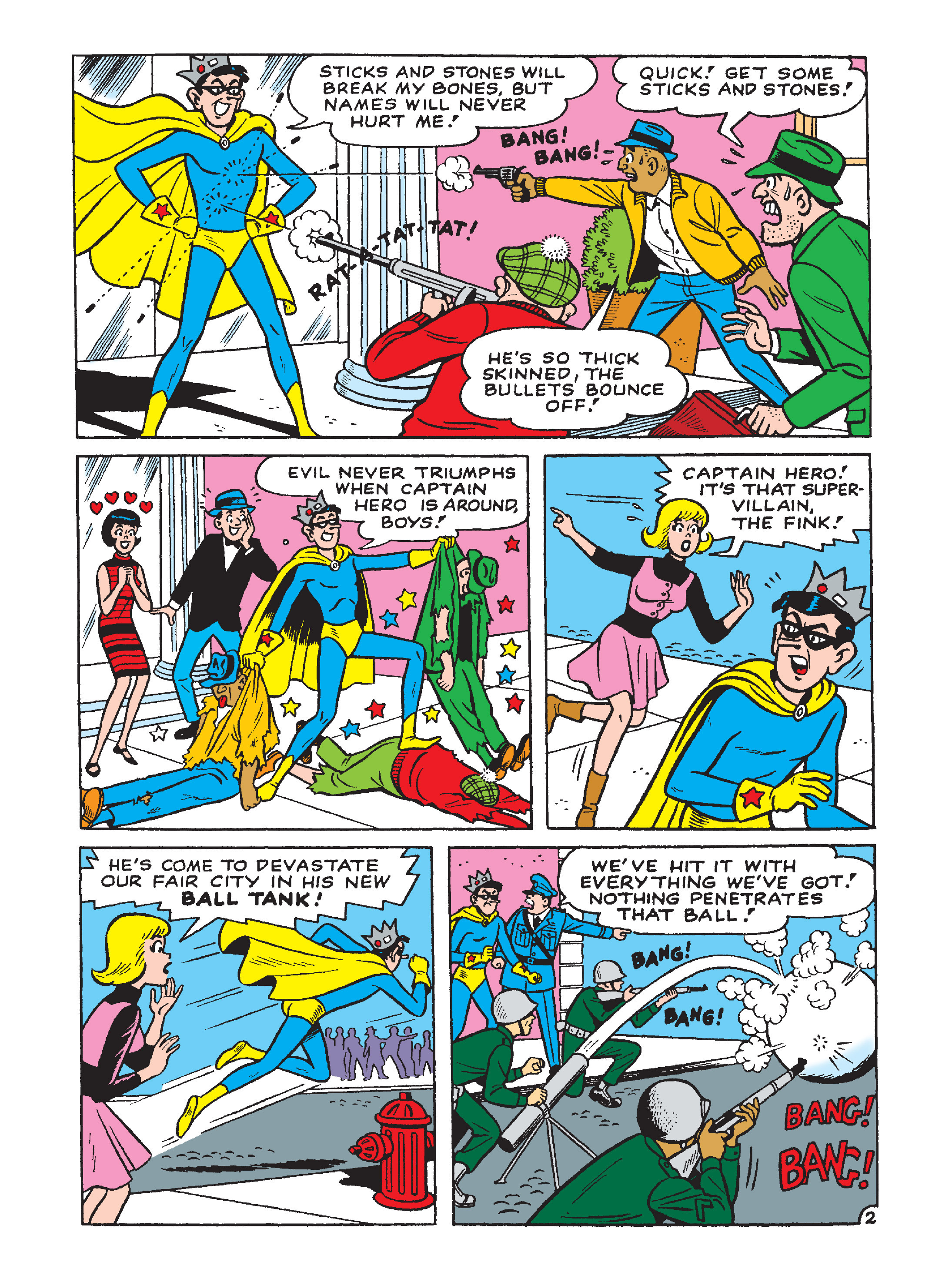 Read online Archie 75th Anniversary Digest comic -  Issue #3 - 115