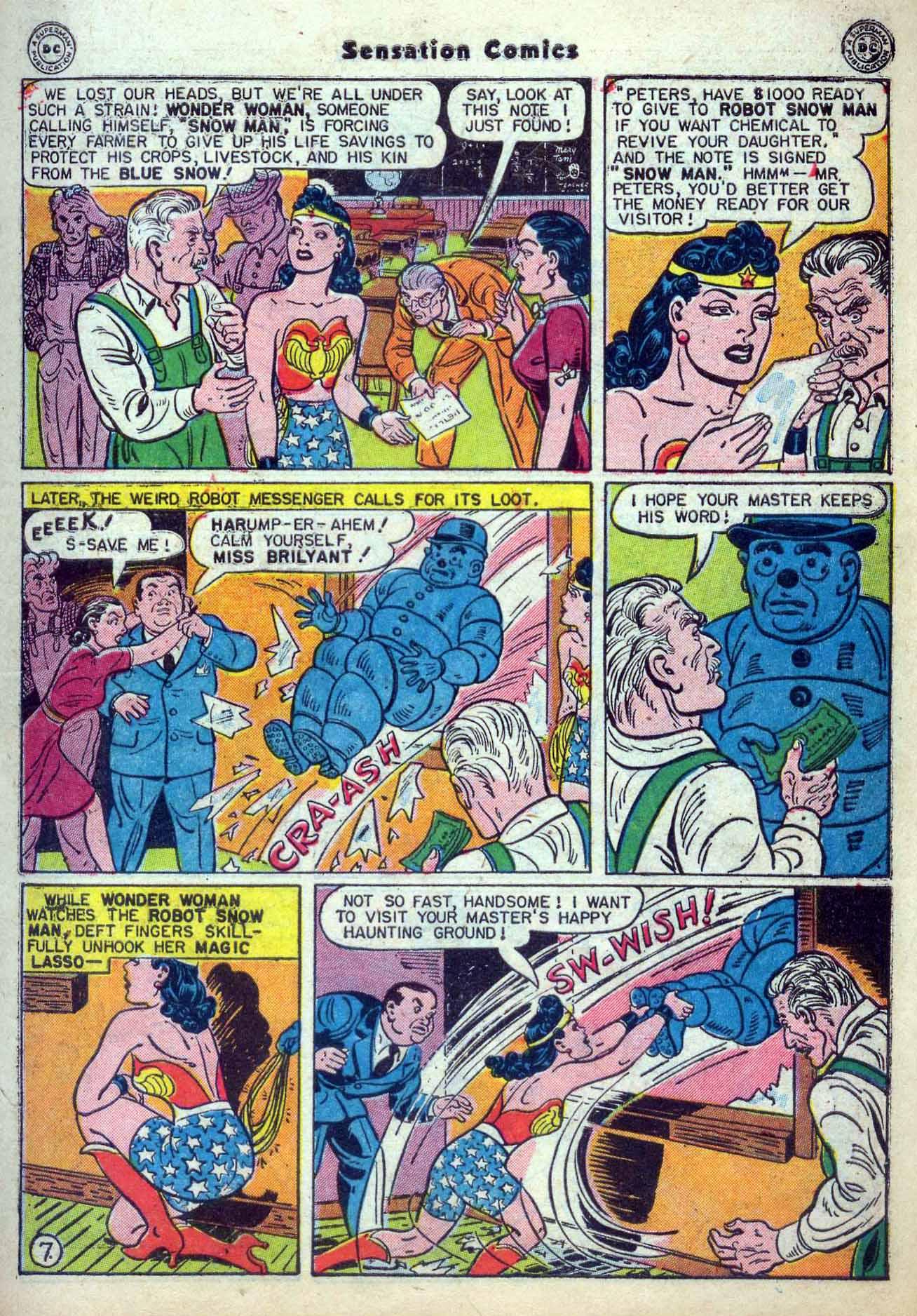 Read online Sensation (Mystery) Comics comic -  Issue #59 - 9