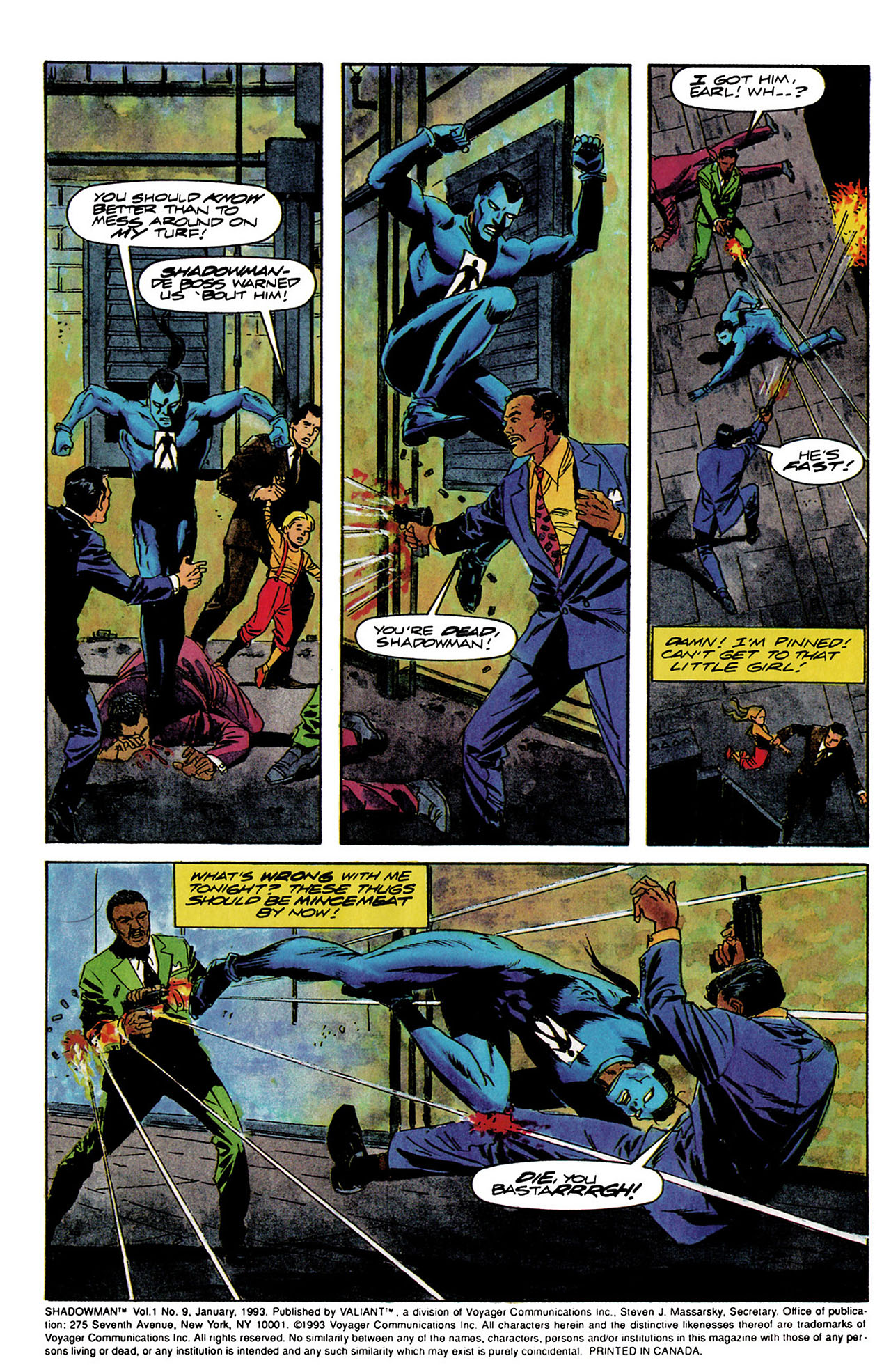 Read online Shadowman (1992) comic -  Issue #9 - 3