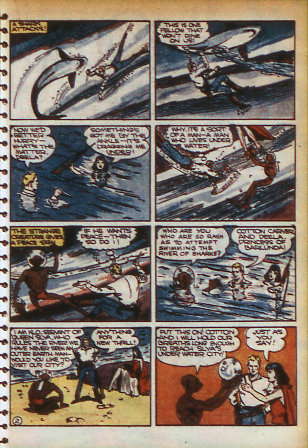 Read online Adventure Comics (1938) comic -  Issue #56 - 34