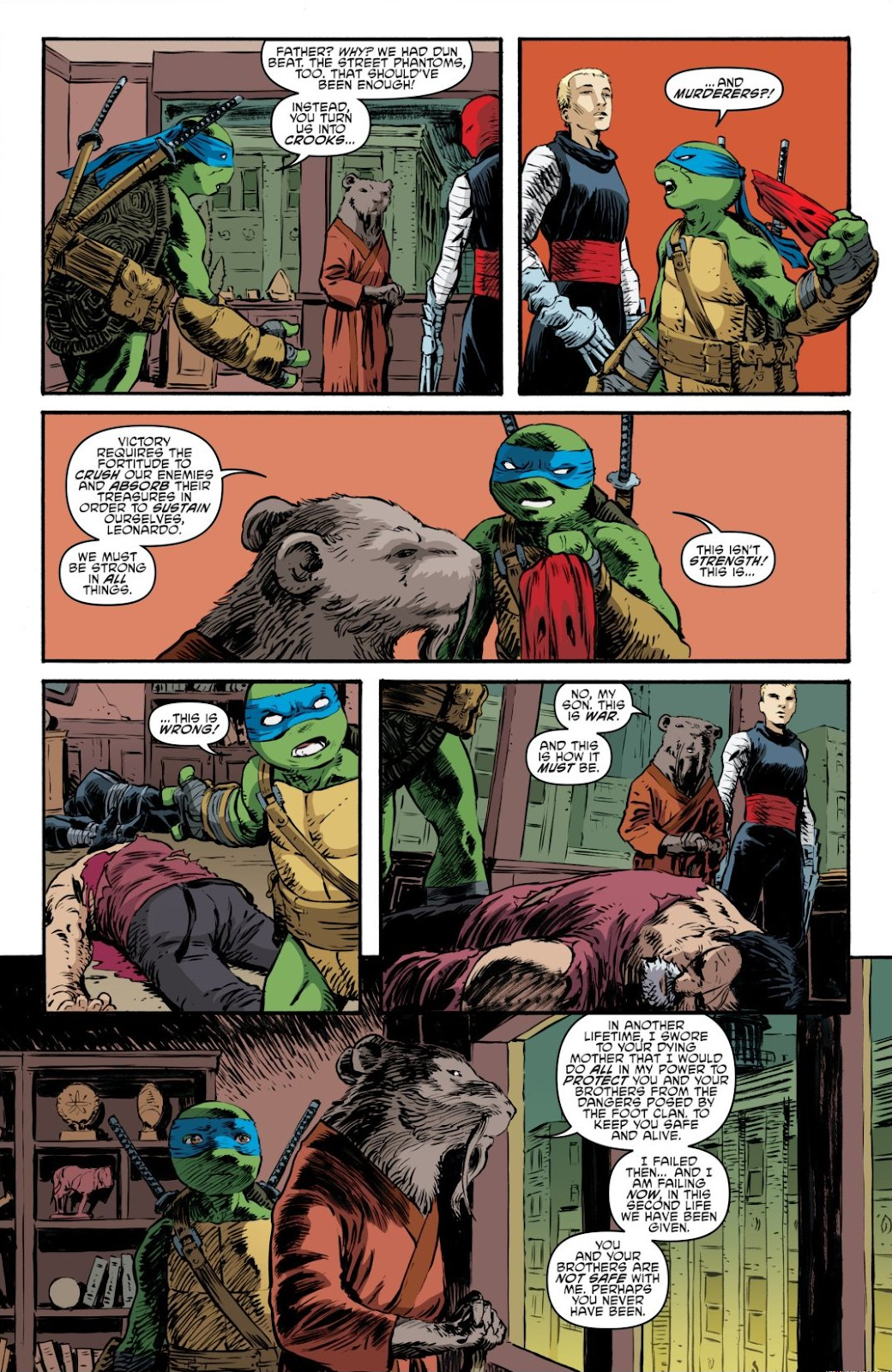 Read online Teenage Mutant Ninja Turtles: The IDW Collection comic -  Issue # TPB 7 (Part 3) - 112