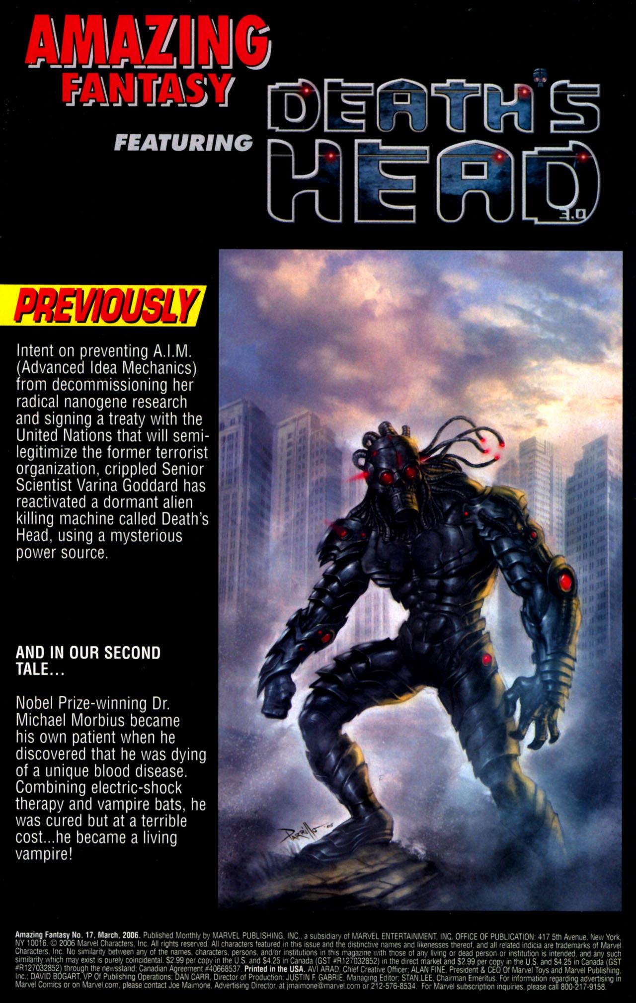 Read online Amazing Fantasy (2004) comic -  Issue #17 - 3