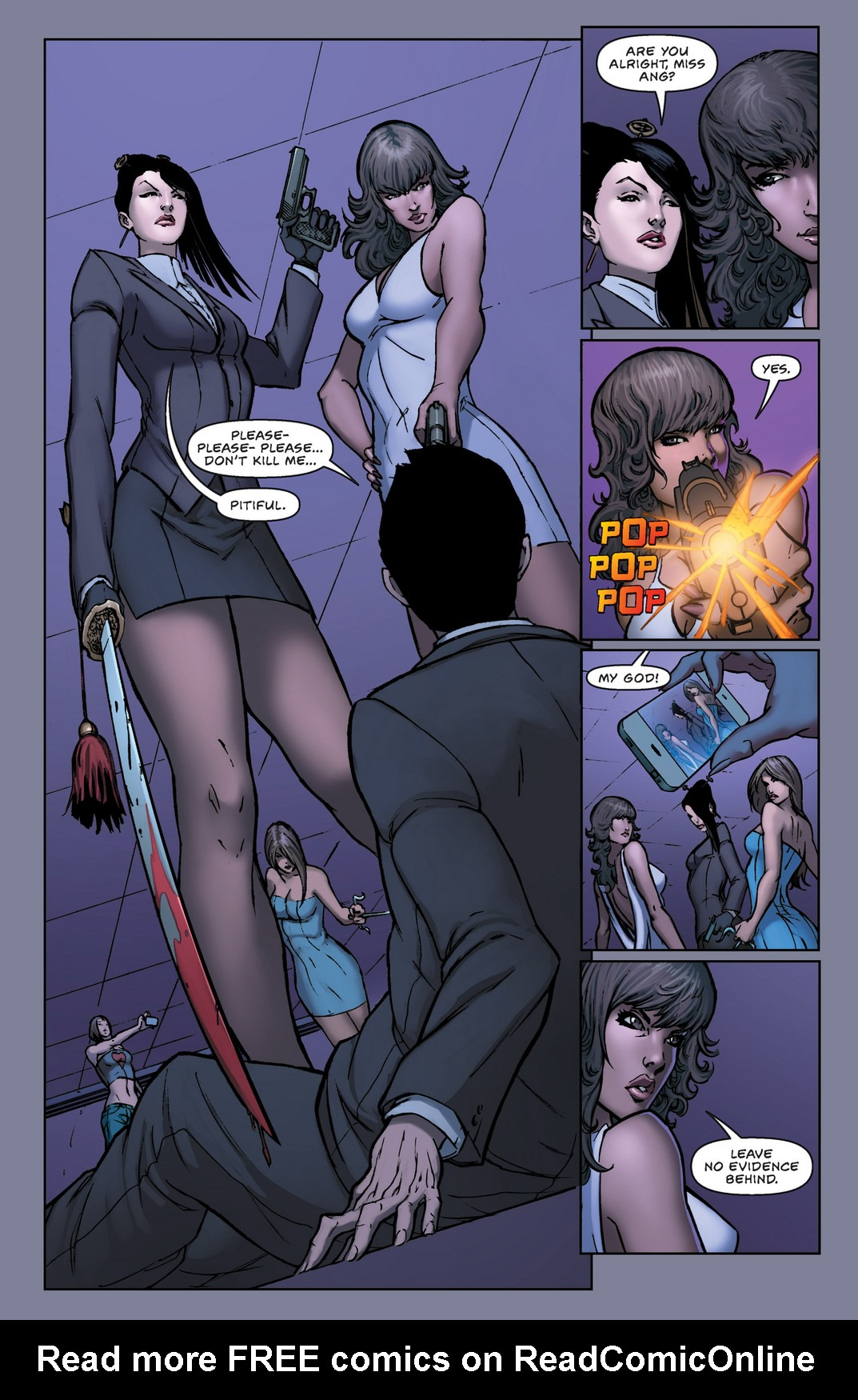 Read online All New Executive Assistant: Iris comic -  Issue #1 - 16