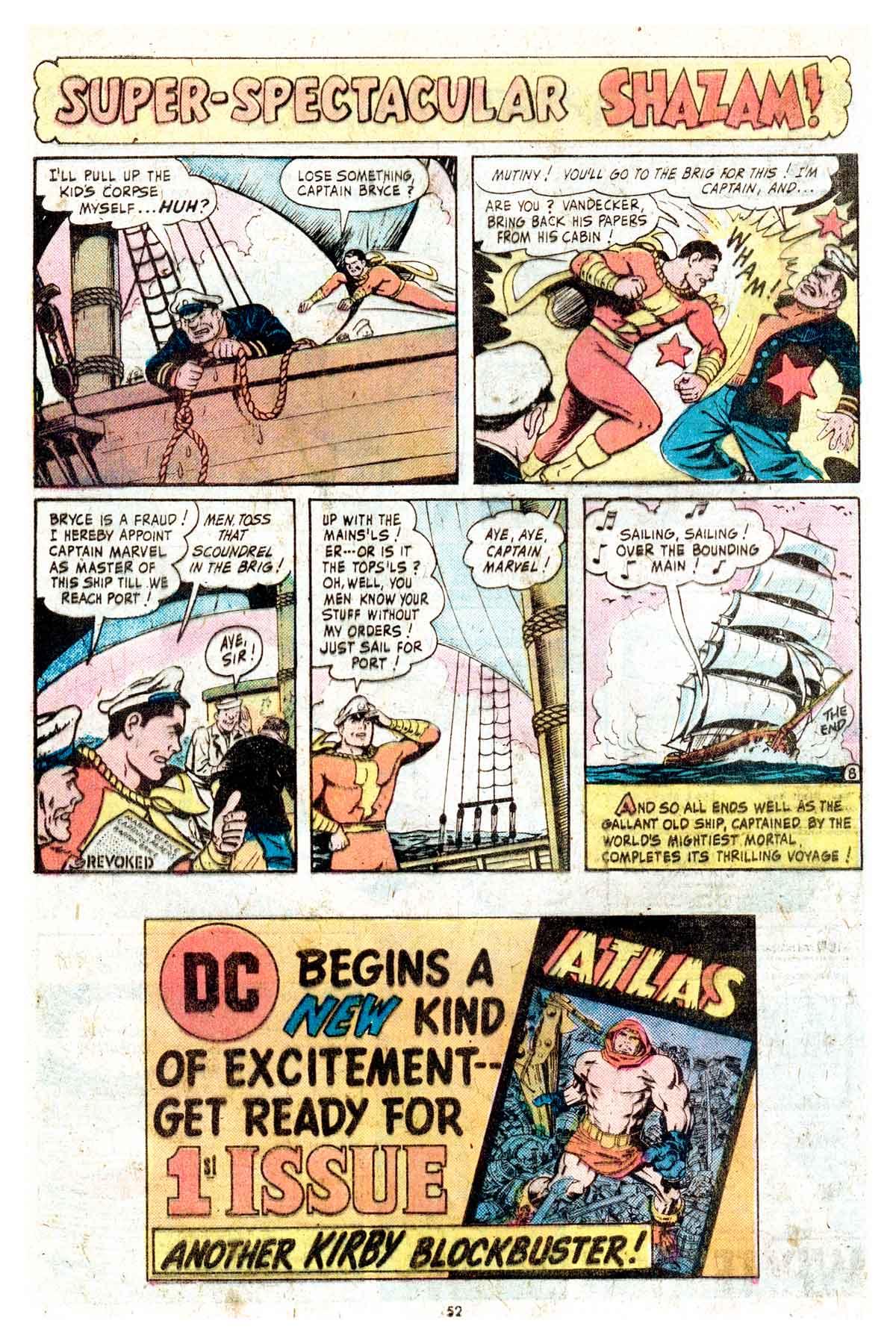 Read online Shazam! (1973) comic -  Issue #17 - 52
