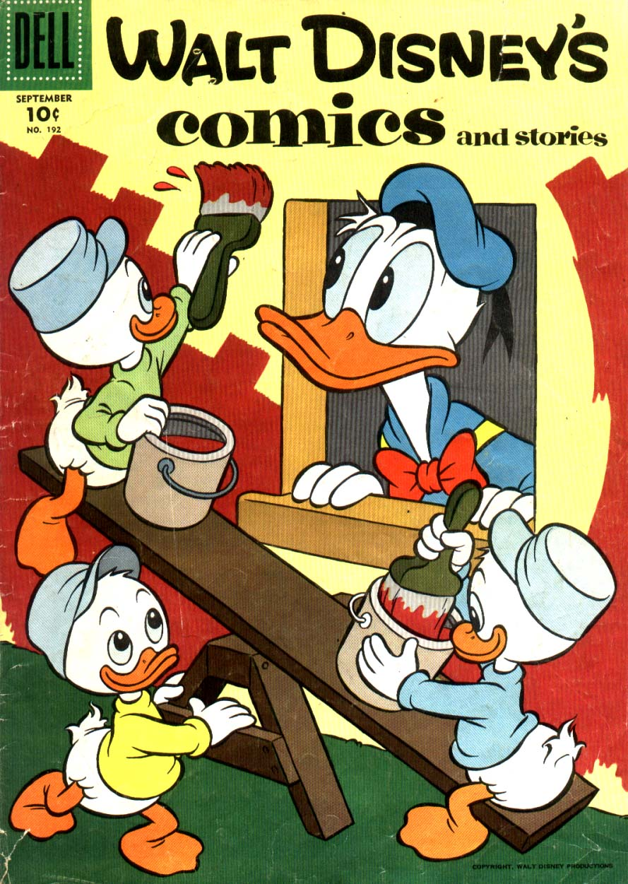 Walt Disney's Comics and Stories issue 192 - Page 1