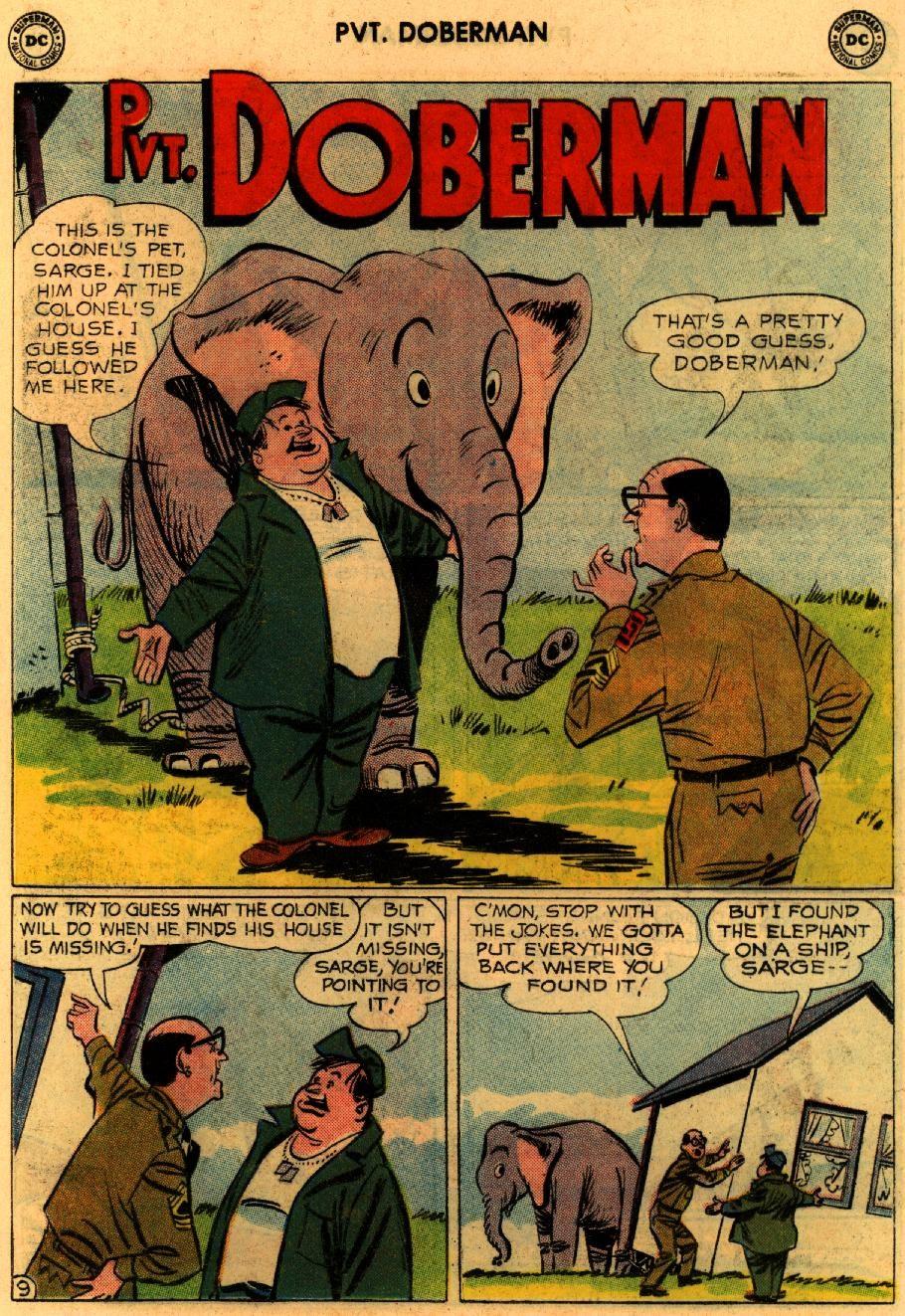 Sgt. Bilko's Pvt. Doberman issue 9 - Page 13