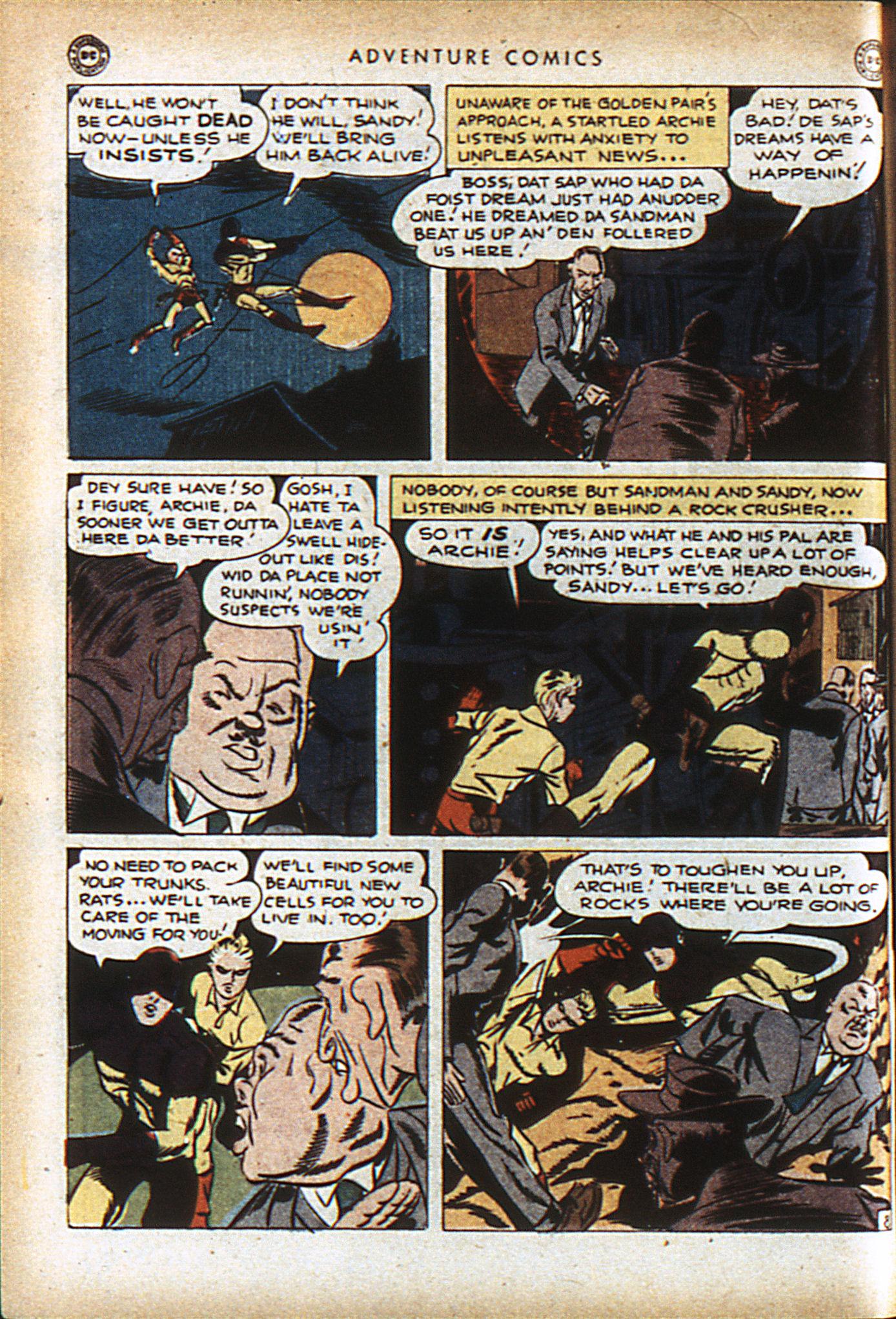 Read online Adventure Comics (1938) comic -  Issue #96 - 11