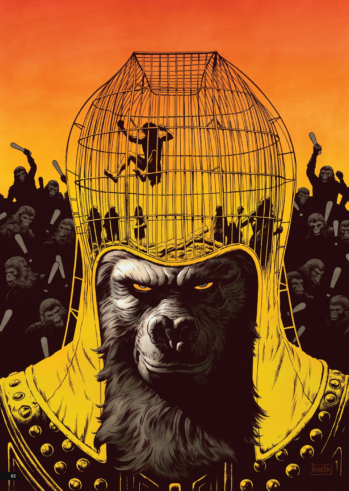 Read online Planet of the Apes Artist Tribute comic -  Issue # TPB - 82