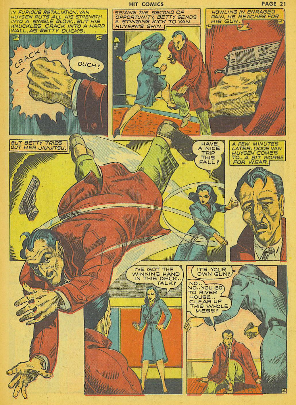 Read online Hit Comics comic -  Issue #21 - 23