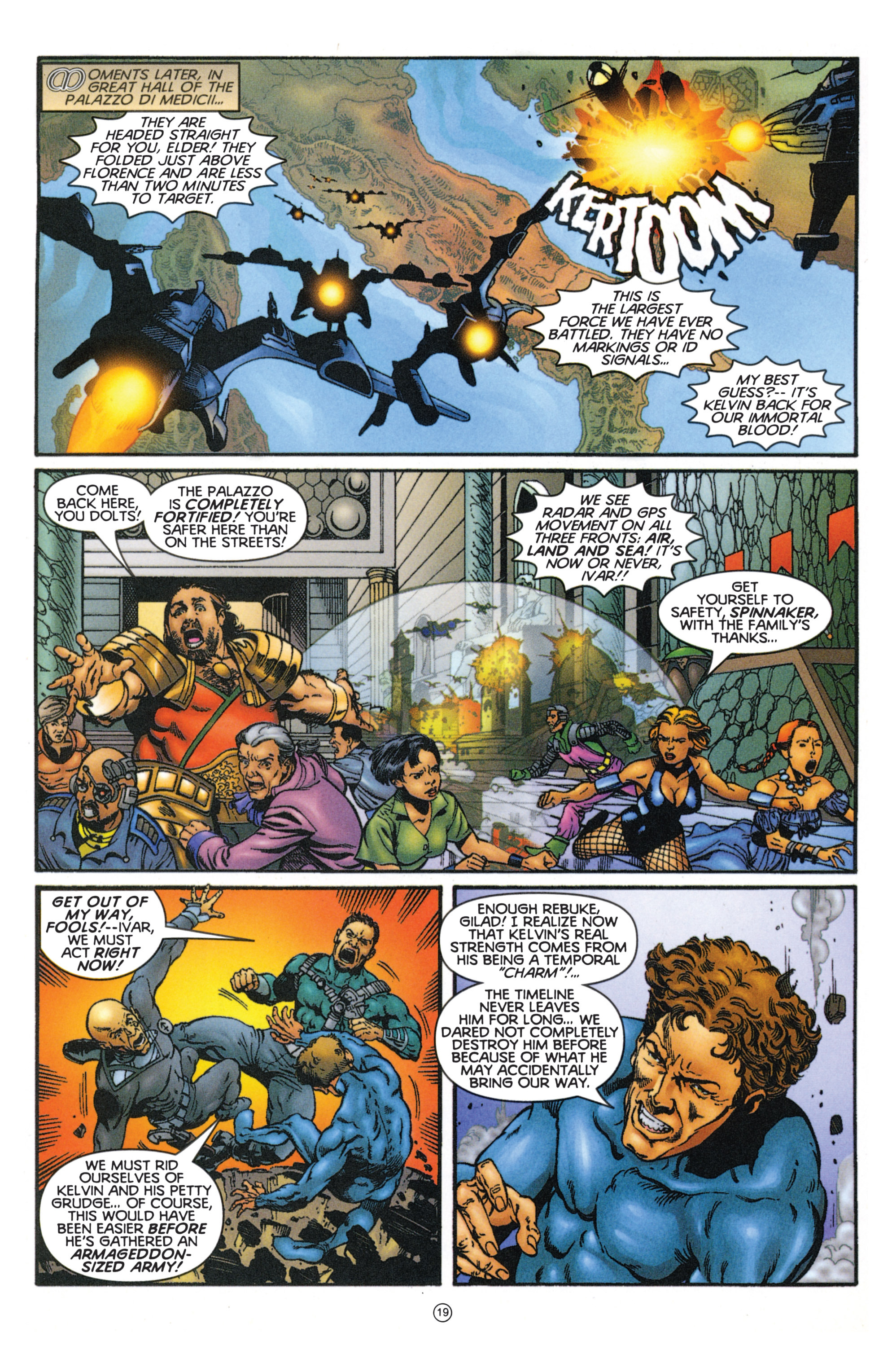 Read online Eternal Warriors comic -  Issue # Issue Mog - 17