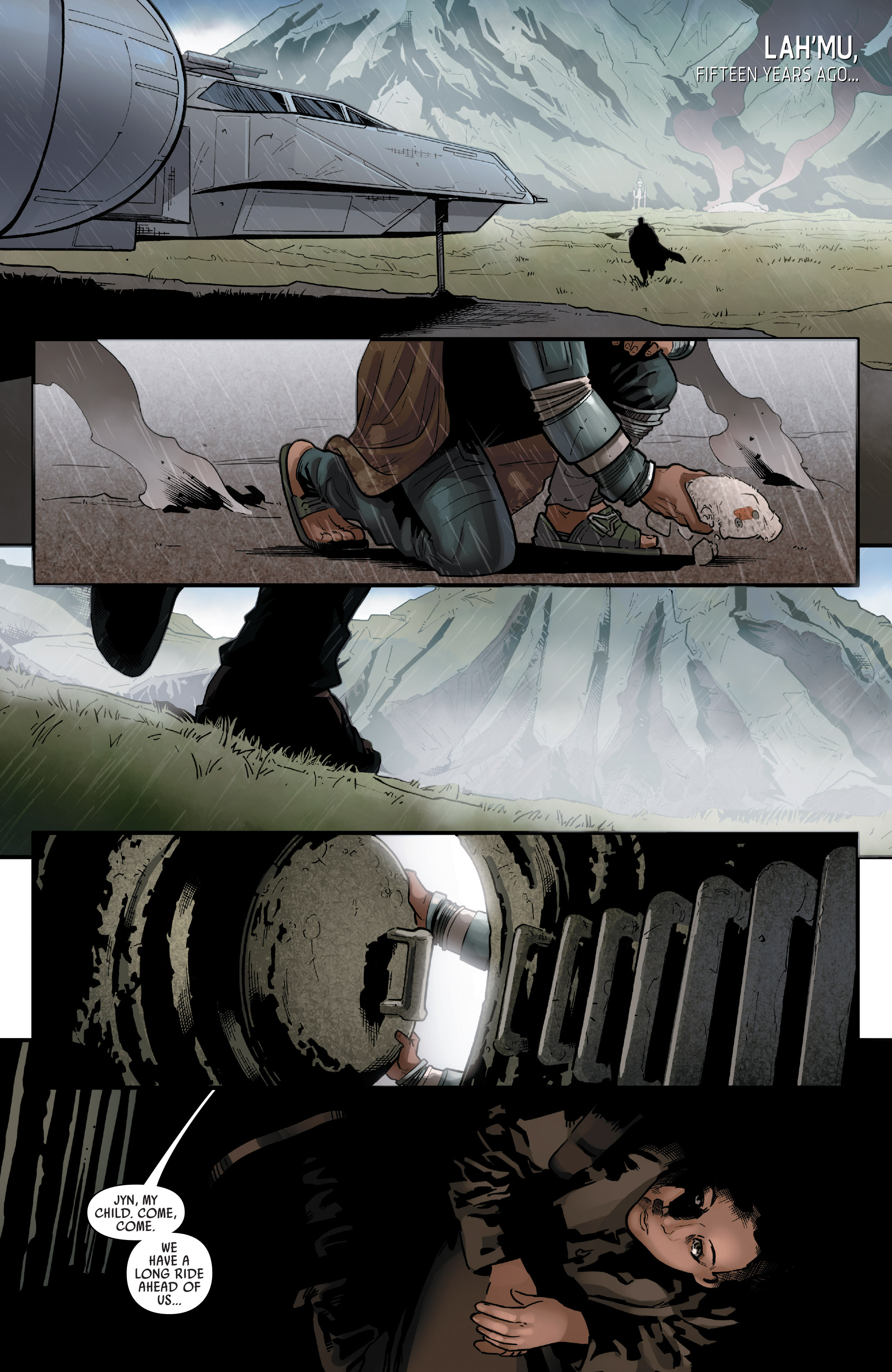 Read online Star Wars: Rogue One Adaptation comic -  Issue #2 - 3