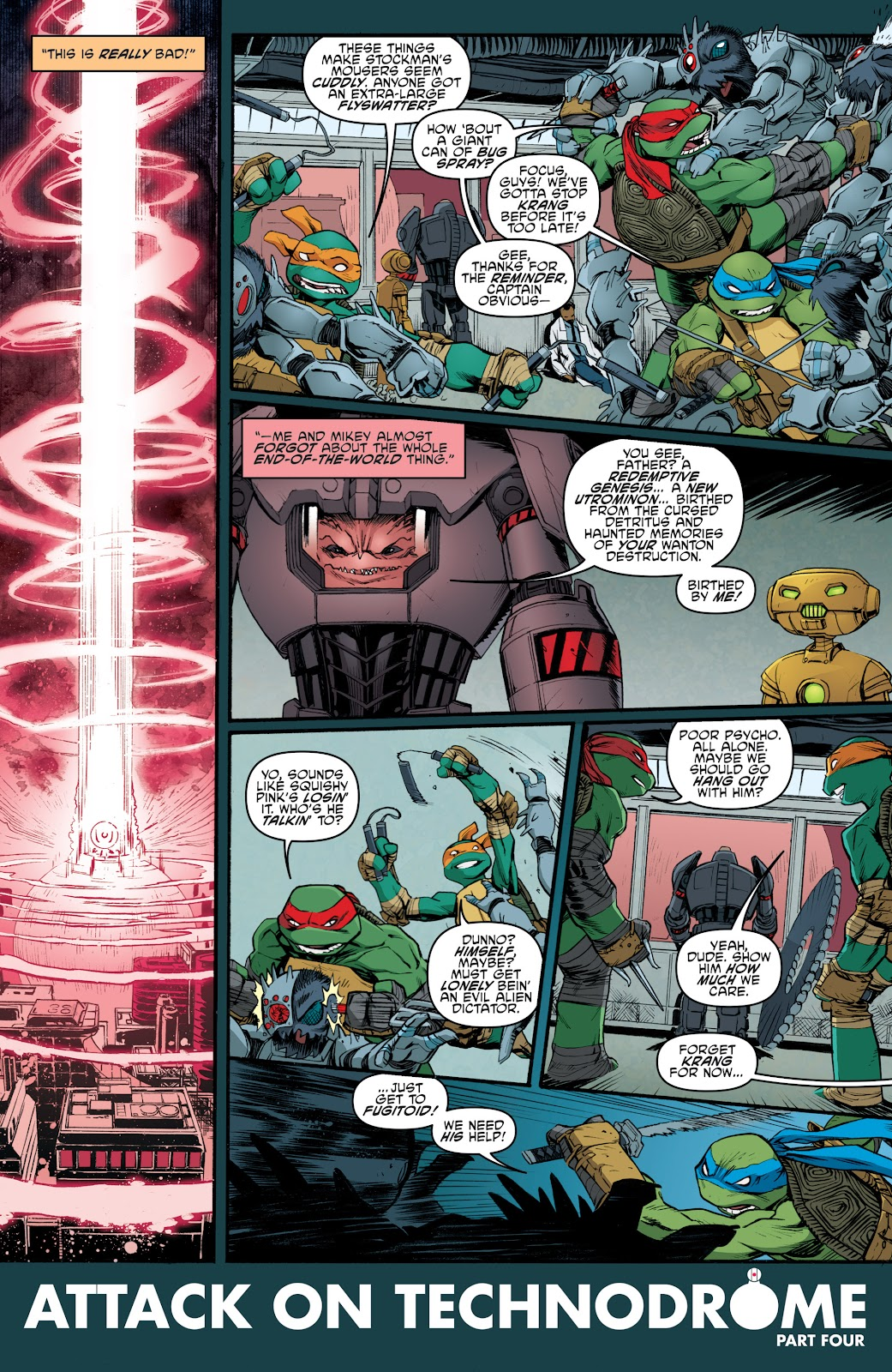 Read online Teenage Mutant Ninja Turtles: The IDW Collection comic -  Issue # TPB 5 (Part 4) - 33