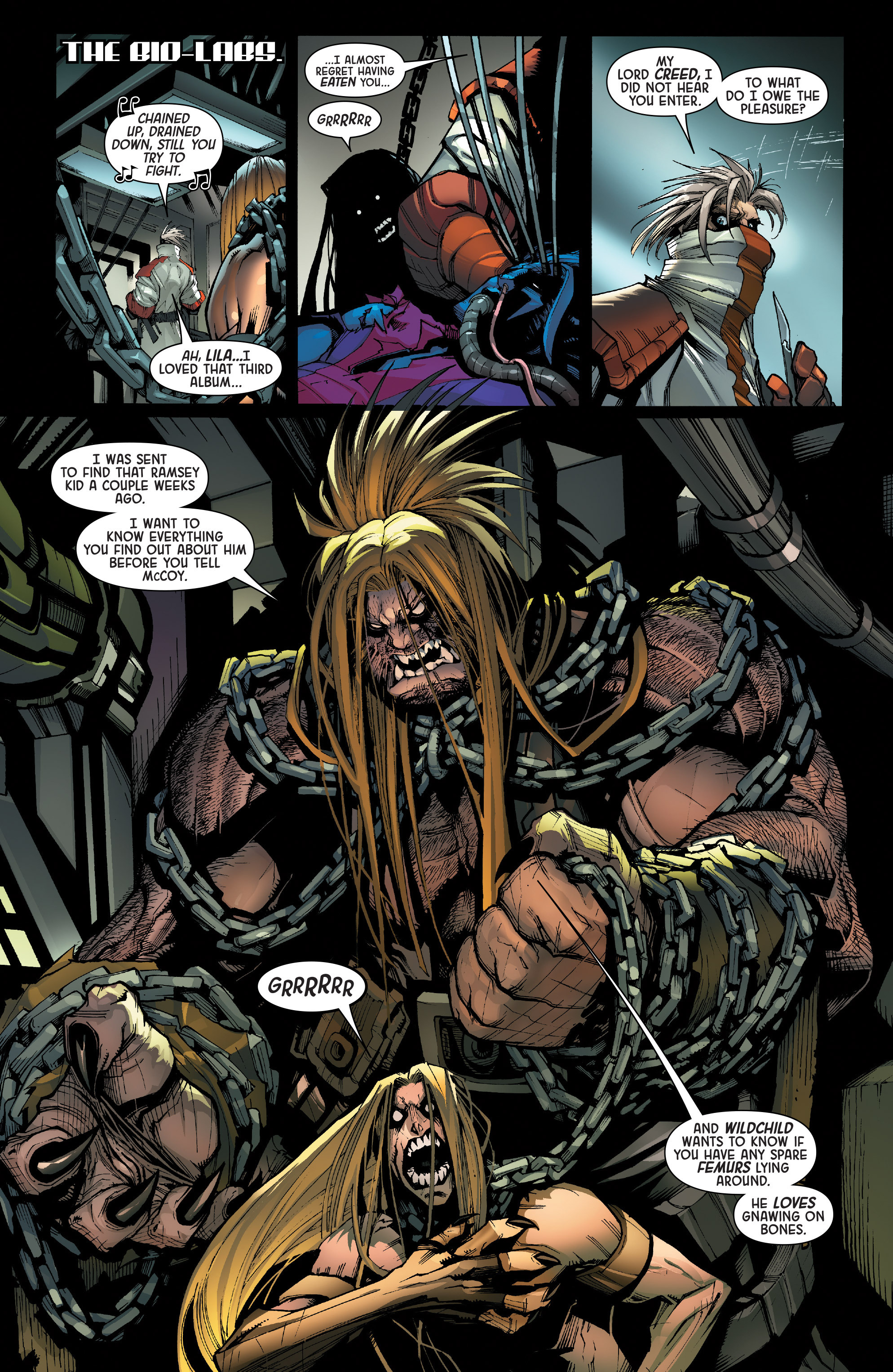 Read online Age of Apocalypse (2015) comic -  Issue #1 - 25
