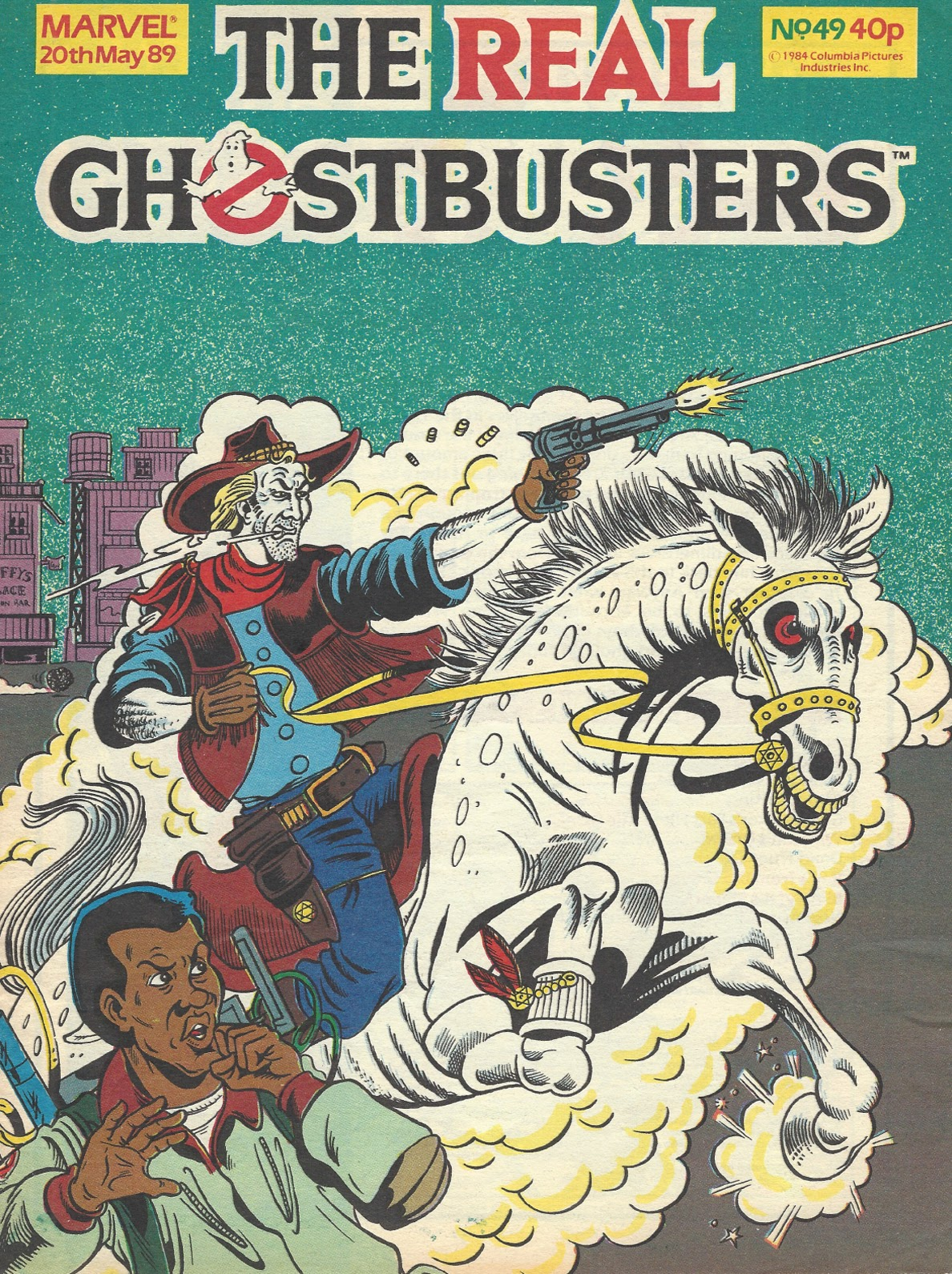 The Real Ghostbusters 49 Page 1