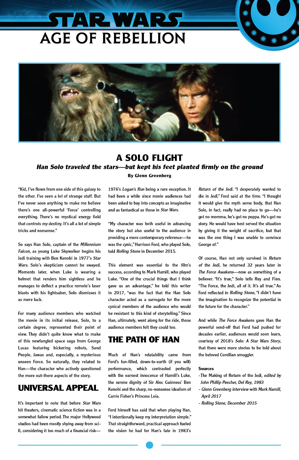 Read online Star Wars: Age of Rebellion - Heroes comic -  Issue # TPB - 49