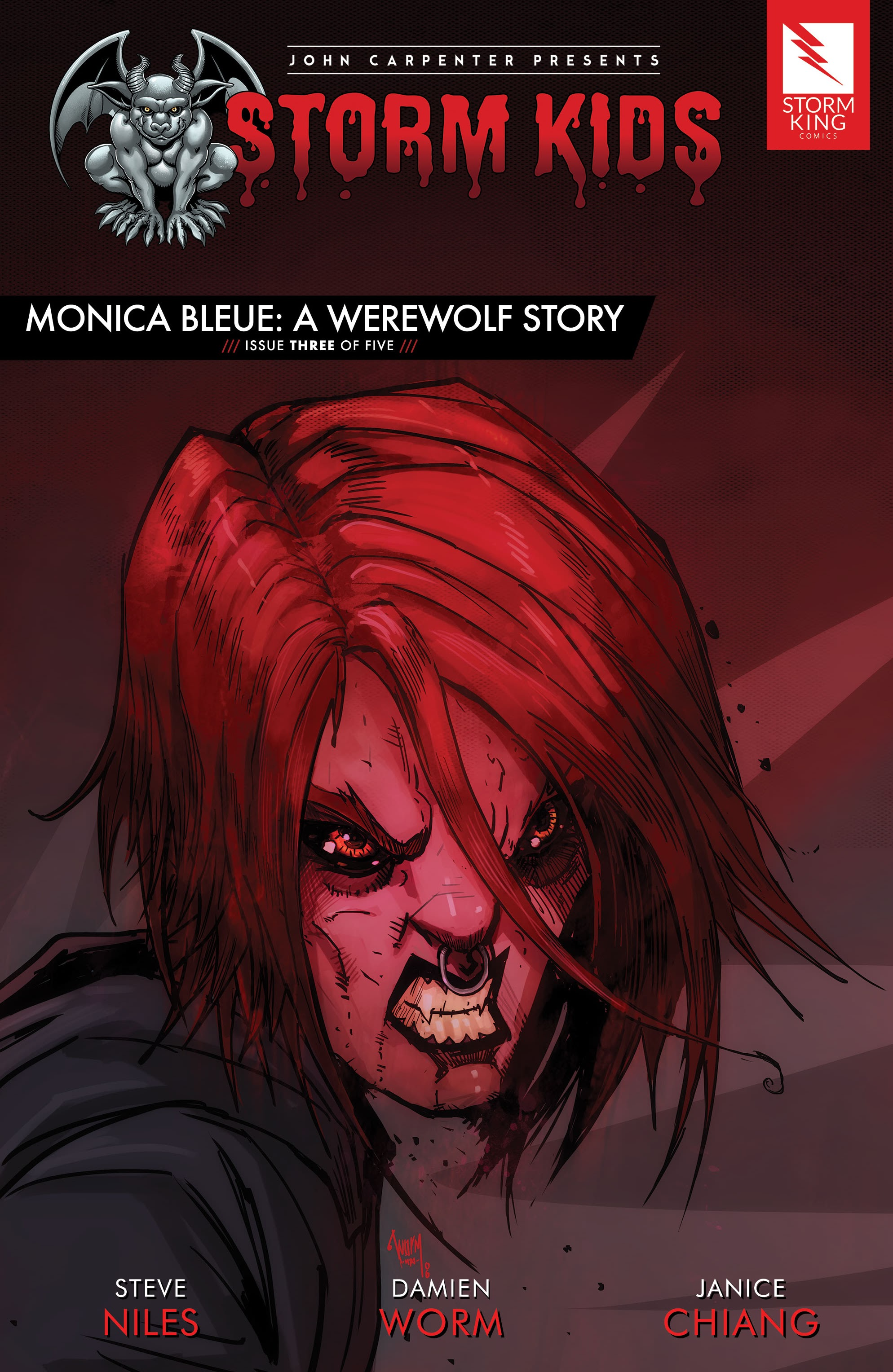 John Carpenter Presents Storm Kids: Monica Bleue: A Werewolf Story 3 Page 1