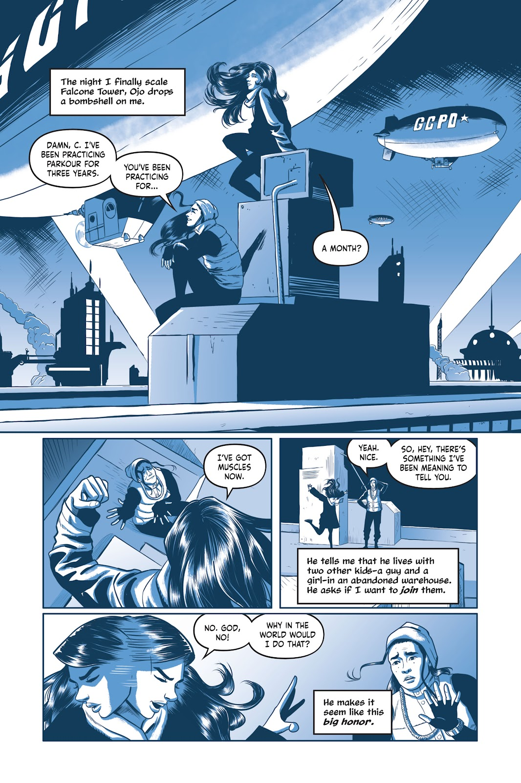 Read online Under the Moon: A Catwoman Tale comic -  Issue # TPB (Part 1) - 94