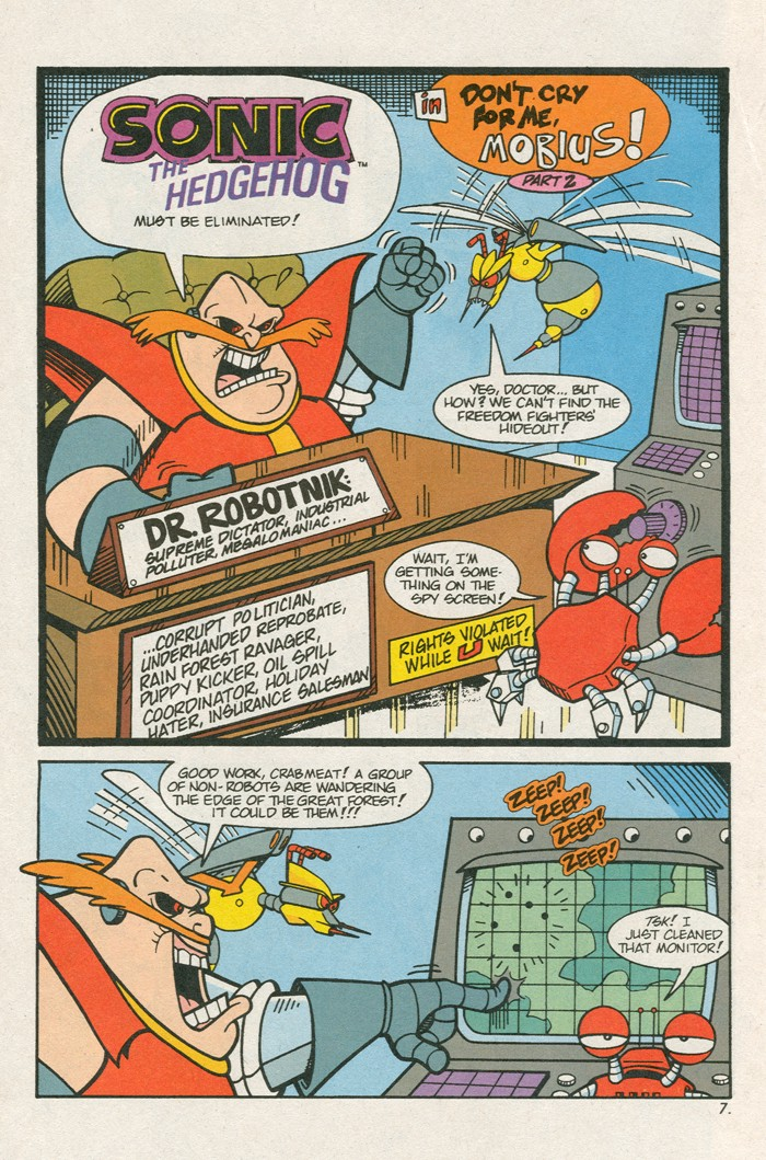 Read online Sonic Super Special comic -  Issue #3 - Sonic Firsts - 9