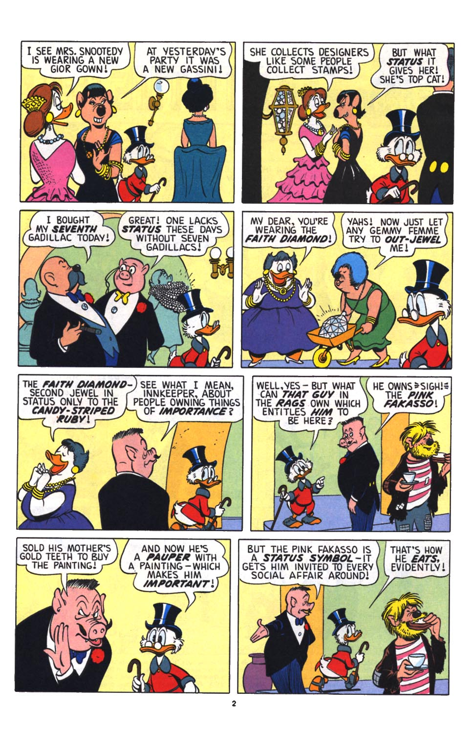 Read online Uncle Scrooge (1953) comic -  Issue #256 - 3