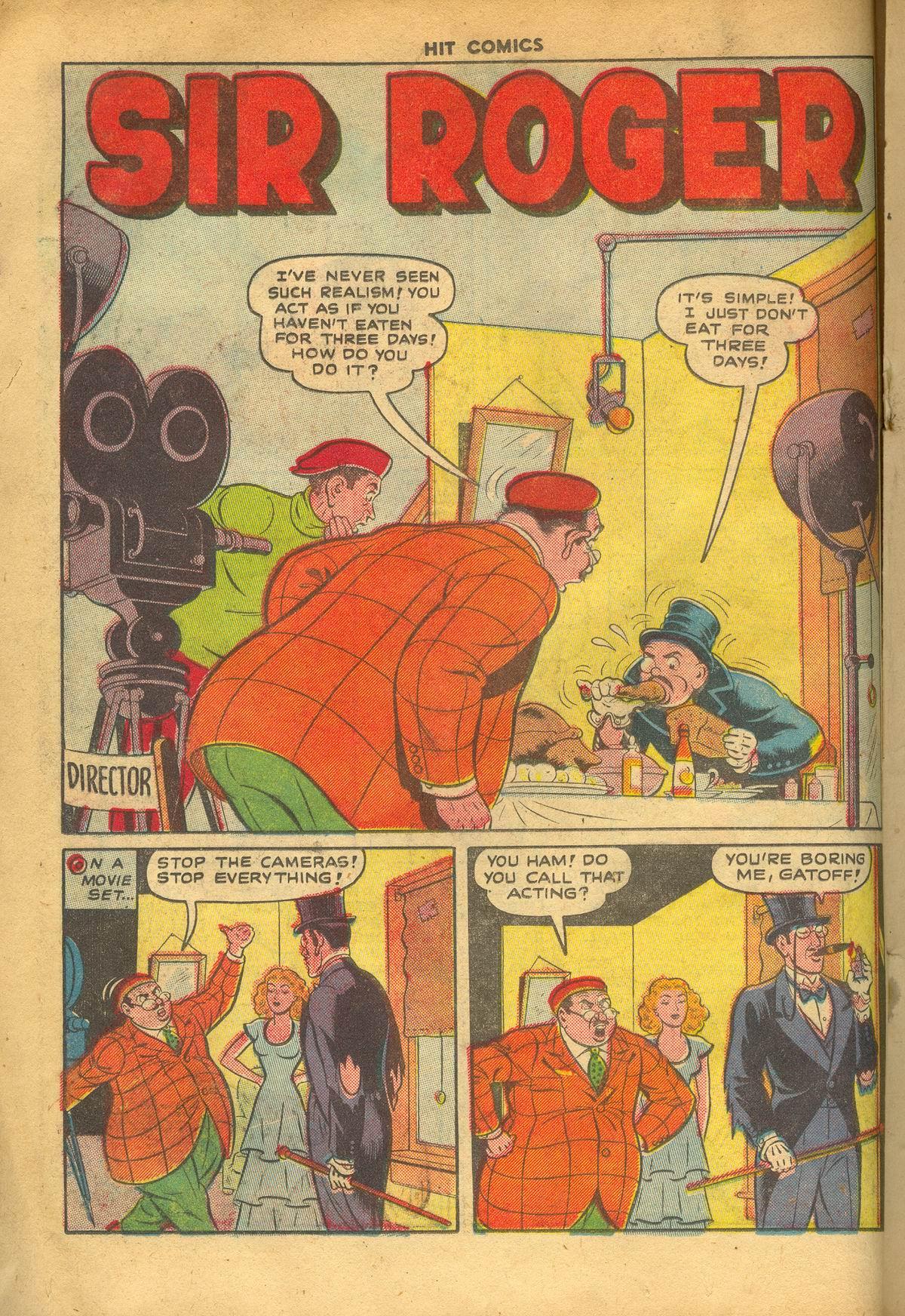 Read online Hit Comics comic -  Issue #60 - 16