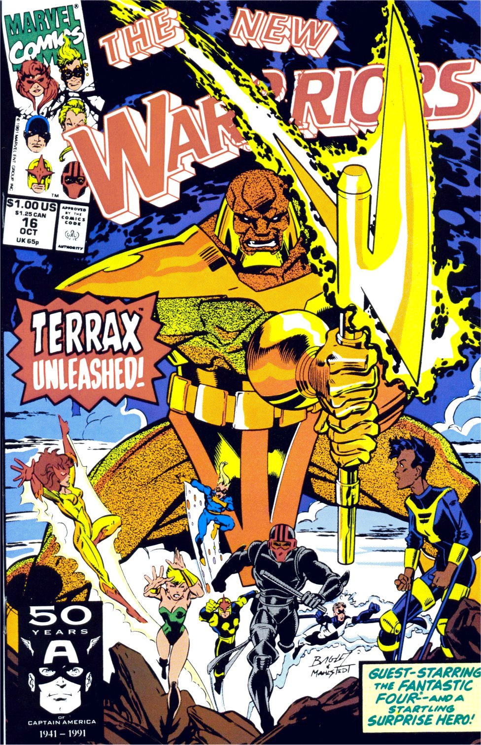 The New Warriors Issue #16 #20 - English 1