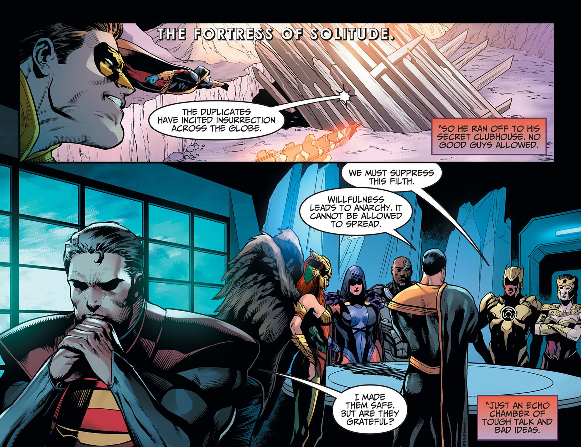 Read online Injustice: Ground Zero comic -  Issue #20 - 12