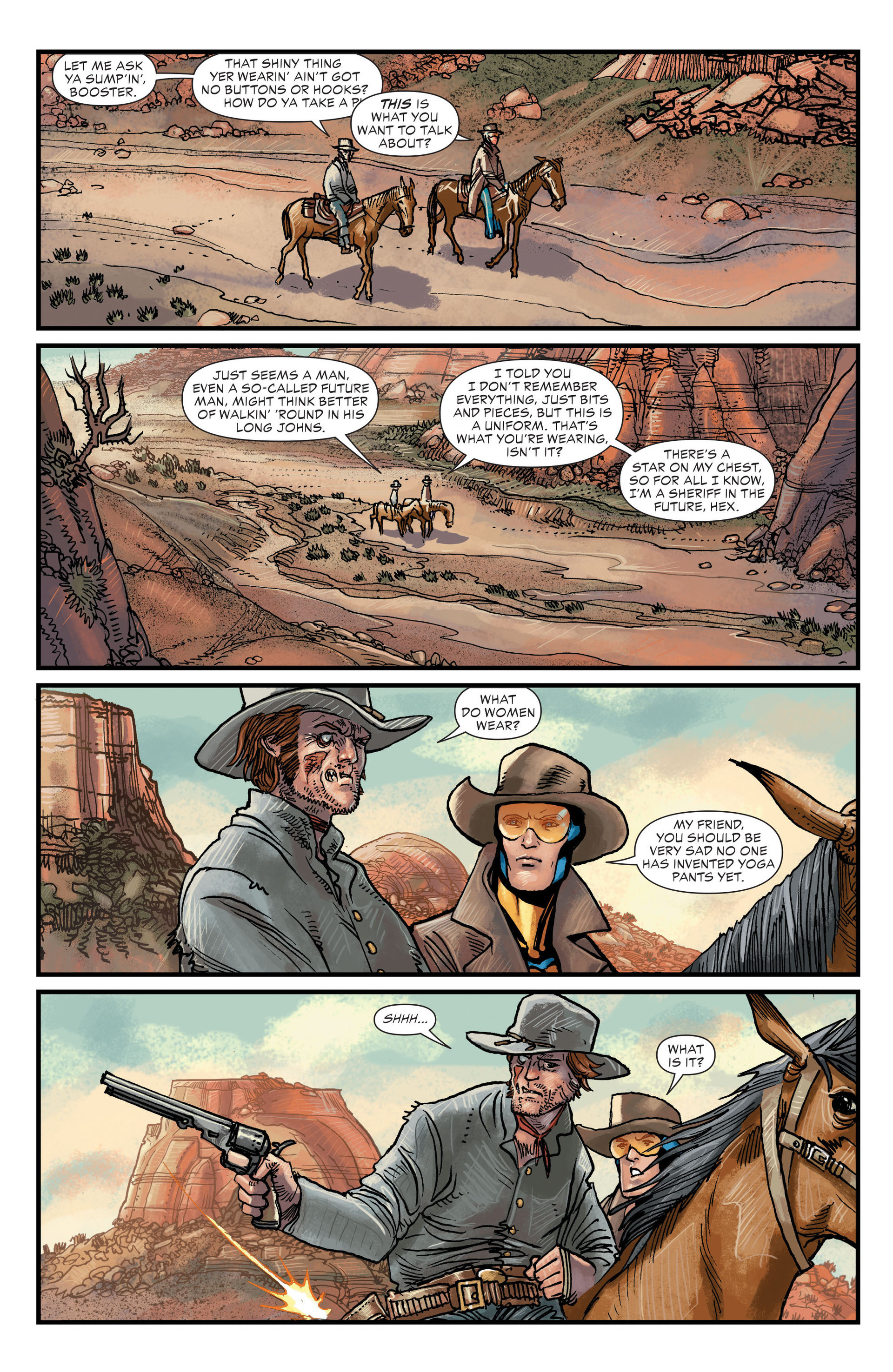 Read online All-Star Western (2011) comic -  Issue #20 - 4