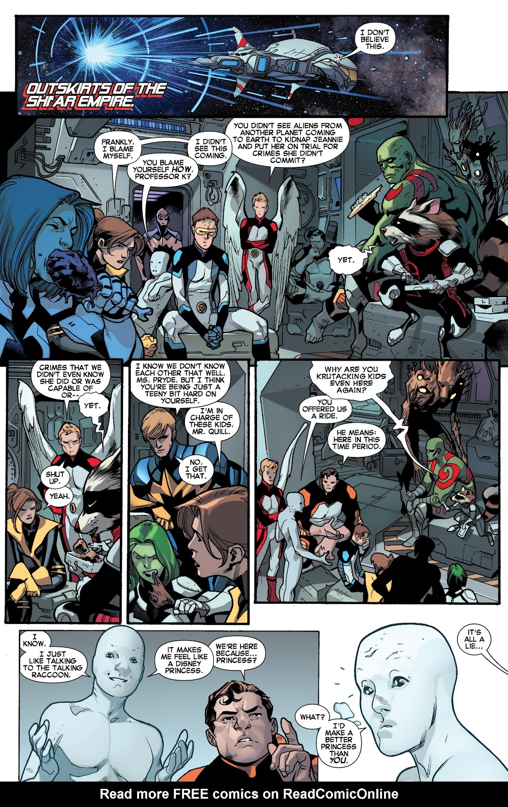Guardians of the Galaxy/All-New X-Men: The Trial of Jean Grey issue TPB - Page 48