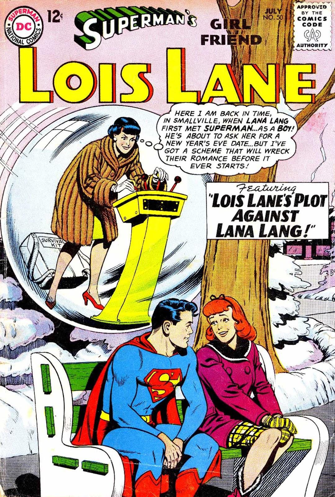Supermans Girl Friend, Lois Lane 50 Page 1