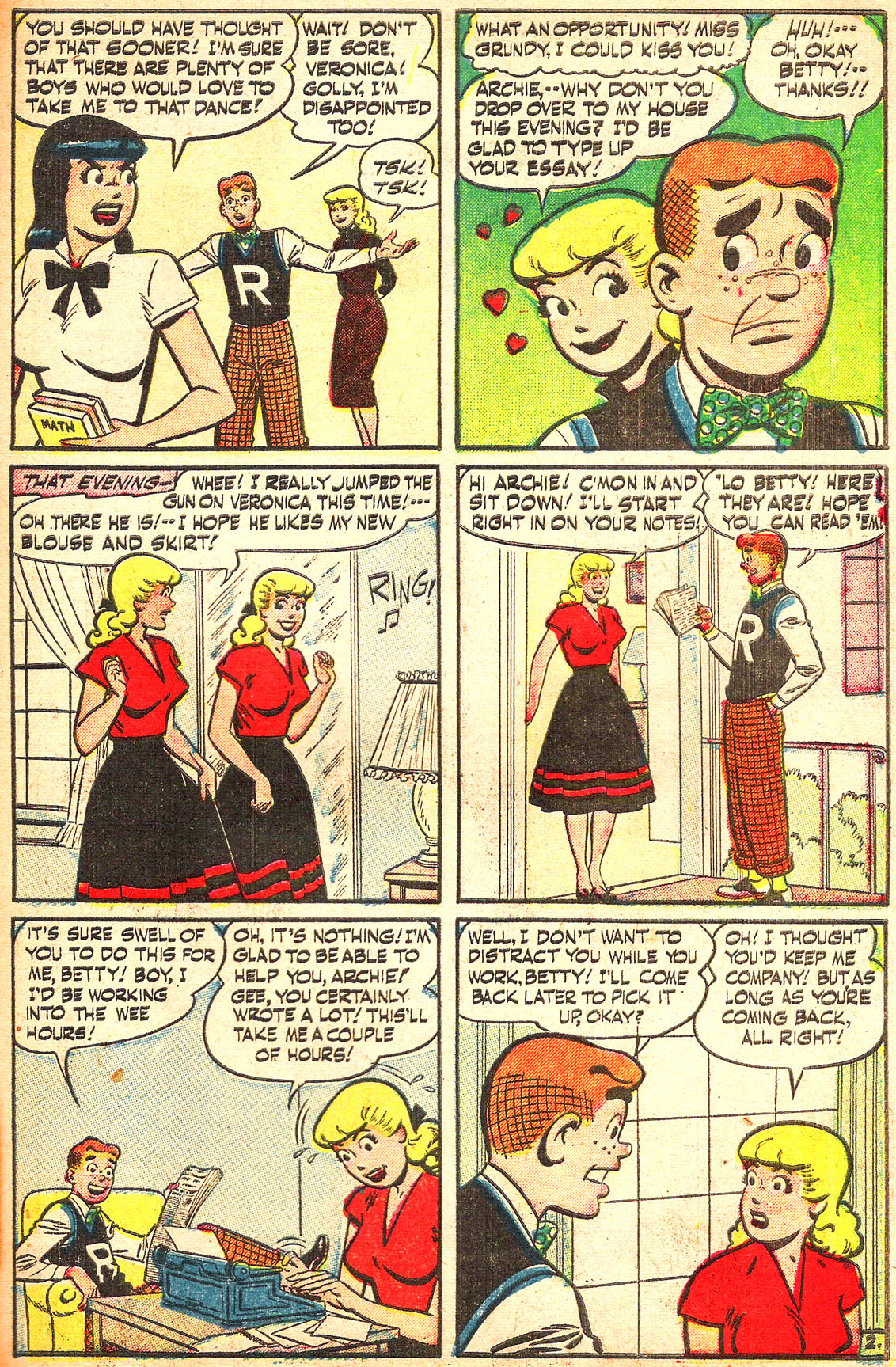Read online Archie's Girls Betty and Veronica comic -  Issue #Archie's Girls Betty and Veronica Annual 1 - 91