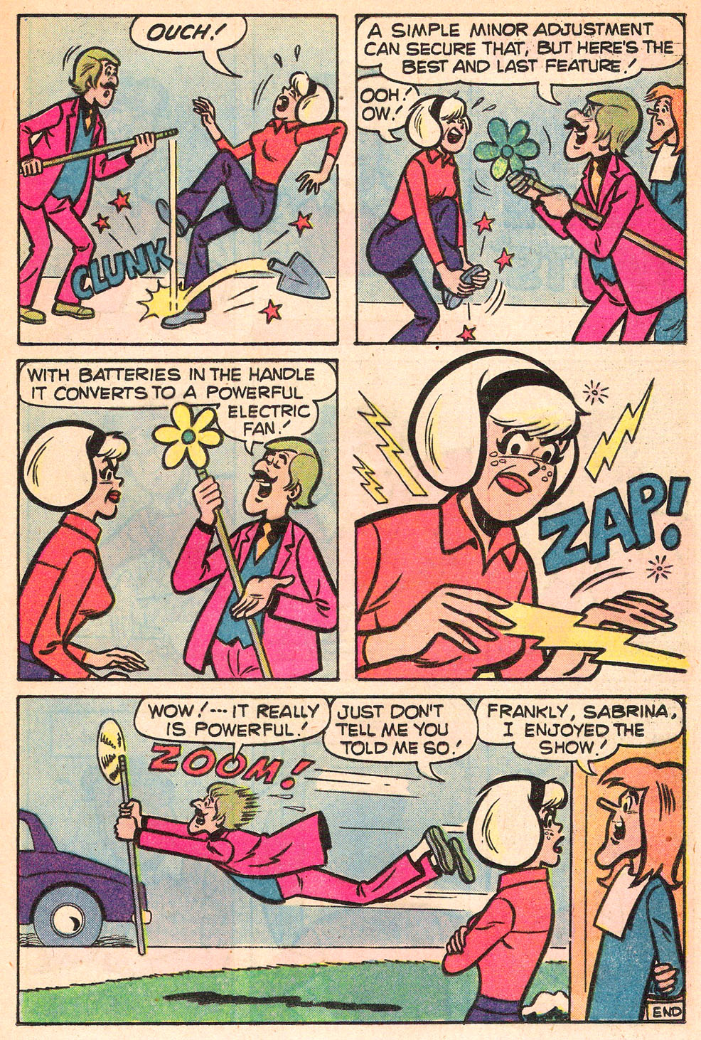 Sabrina The Teenage Witch (1971) Issue #53 #53 - English 17